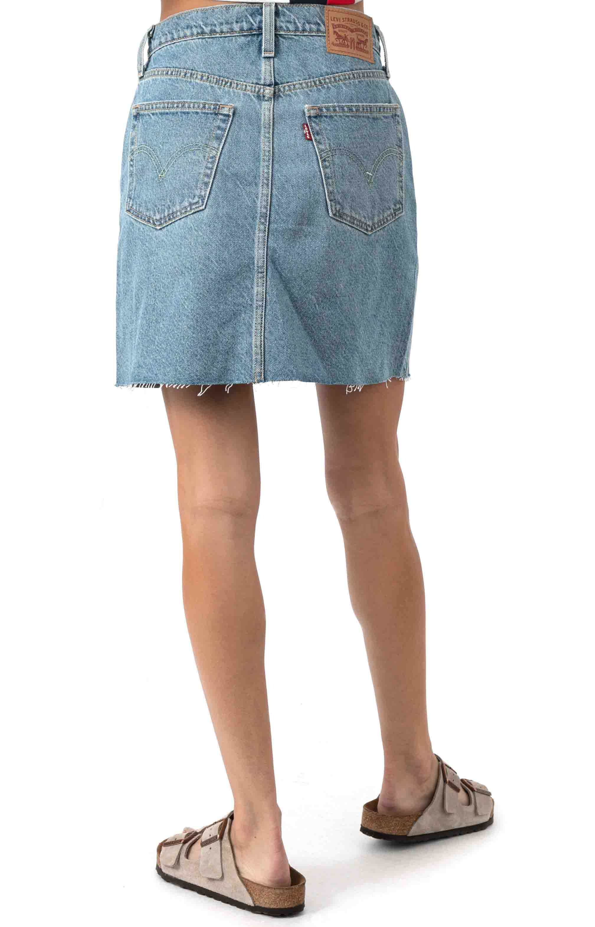 High Rise Decon Iconic Skirt - Rack And Ruin 3