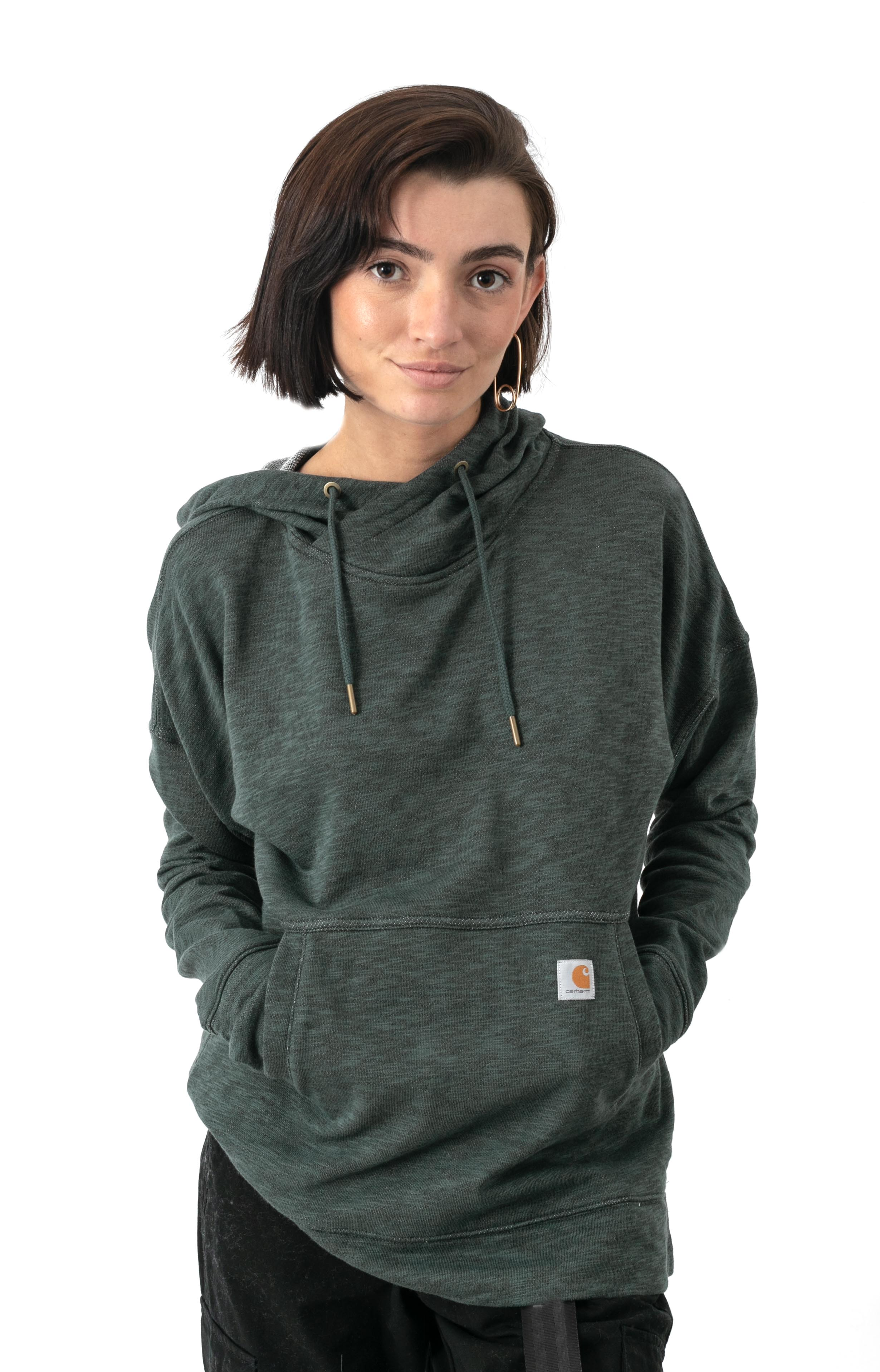 (103591) Newberry Pullover Hoodie - Fog Green