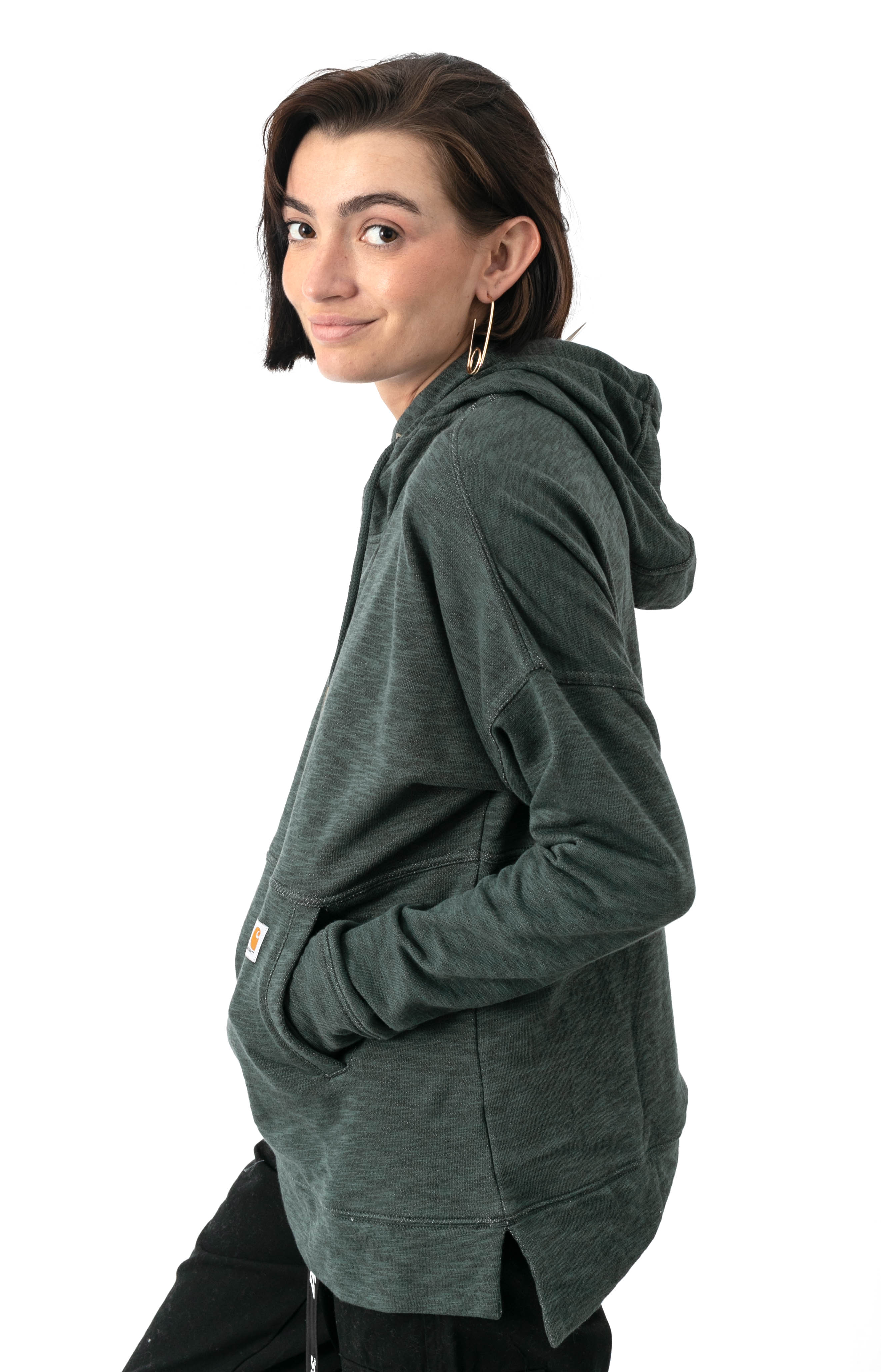 (103591) Newberry Pullover Hoodie - Fog Green  2