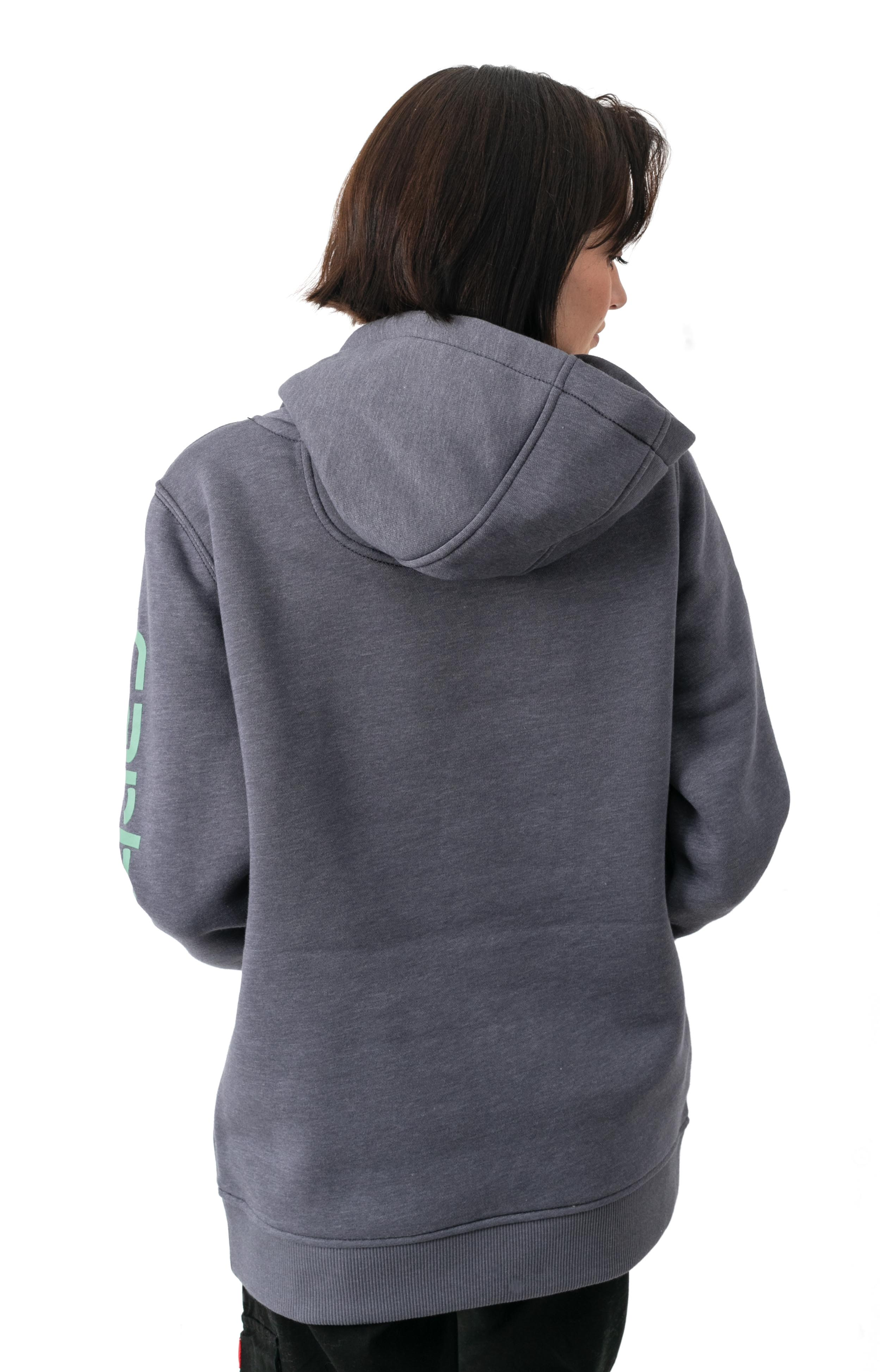 (102791) Clarksburg Graphic Sleeve Pullover Hoodie - Graystone Heather  3