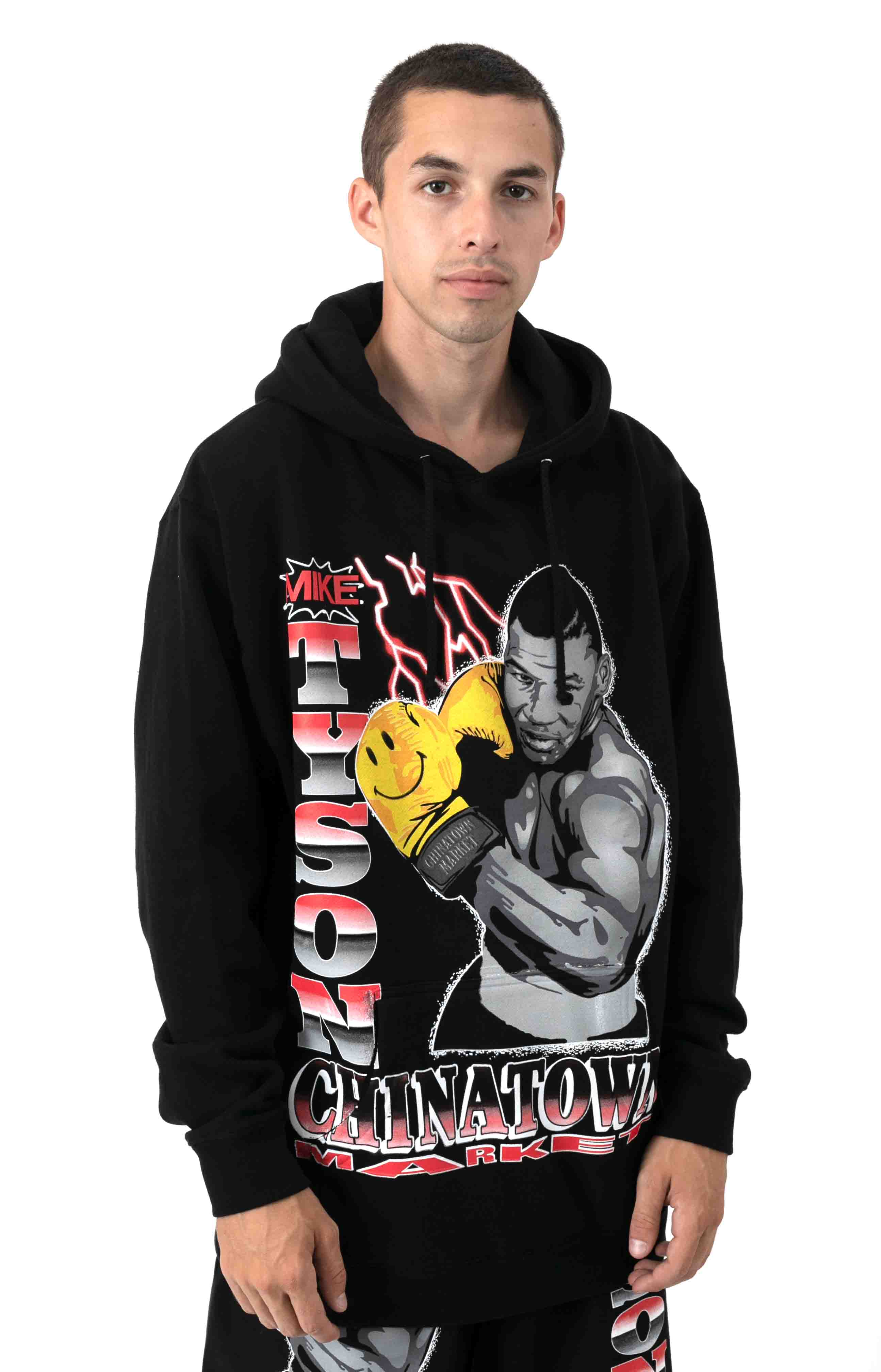 Smiley Boxing Pullover Hoodie