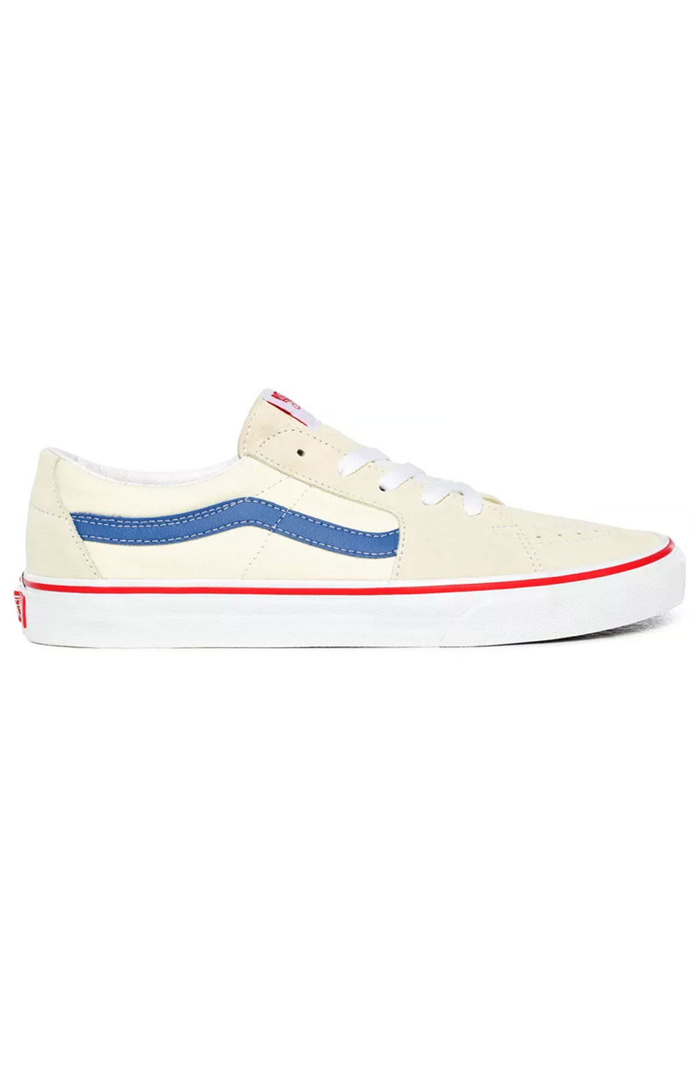 (UUK24I) Sk8-Low Shoes - Classic White/Navy