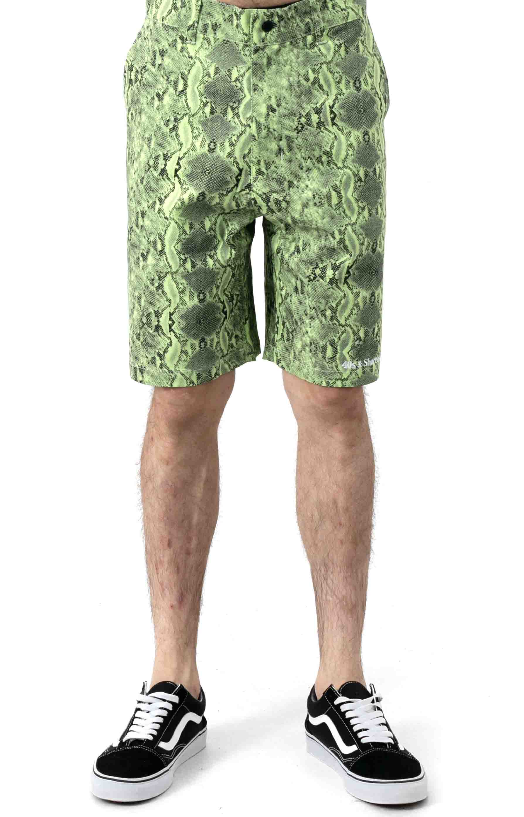 Lance Shorts - Safety Green  2