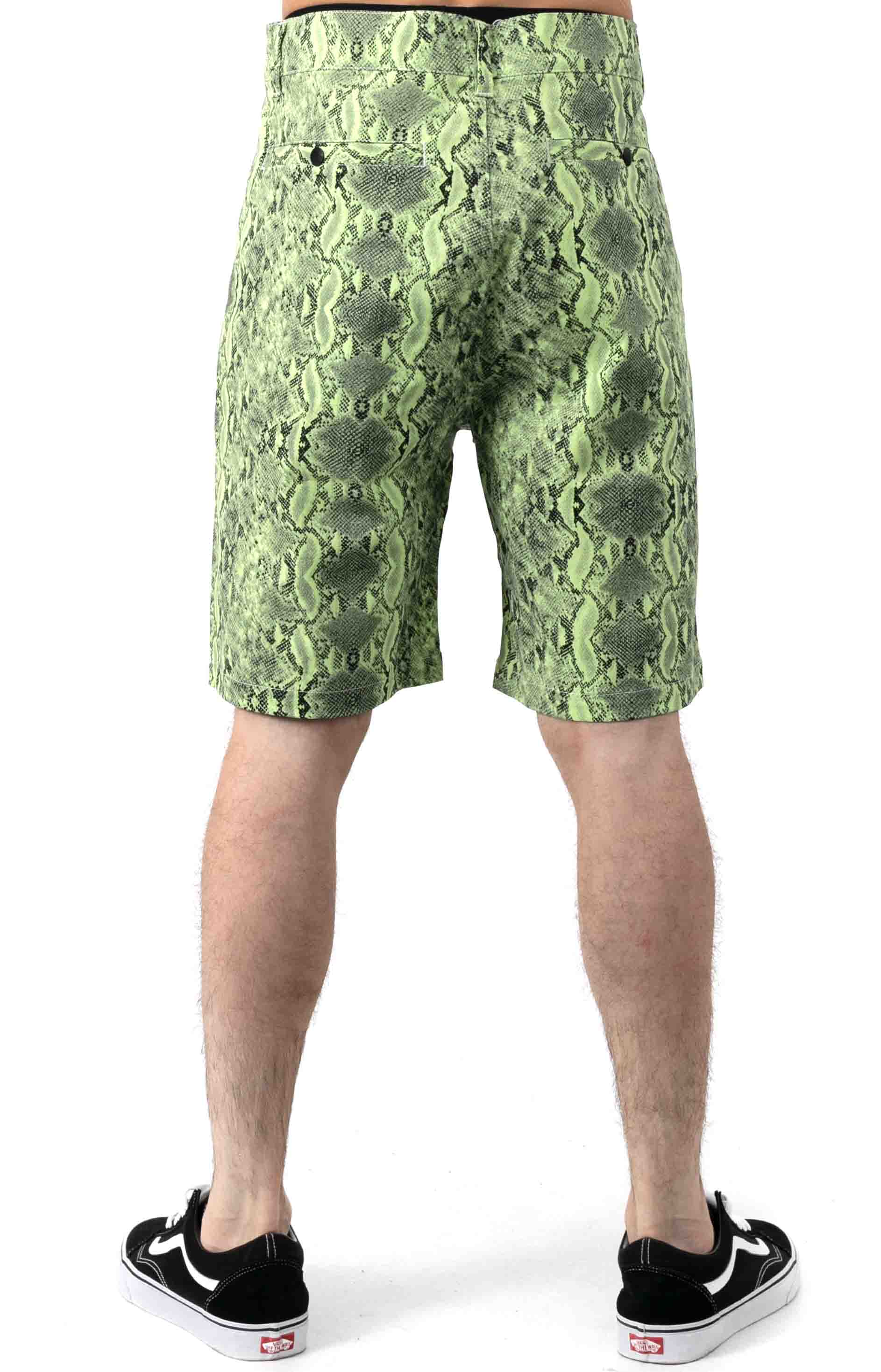 Lance Shorts - Safety Green  3