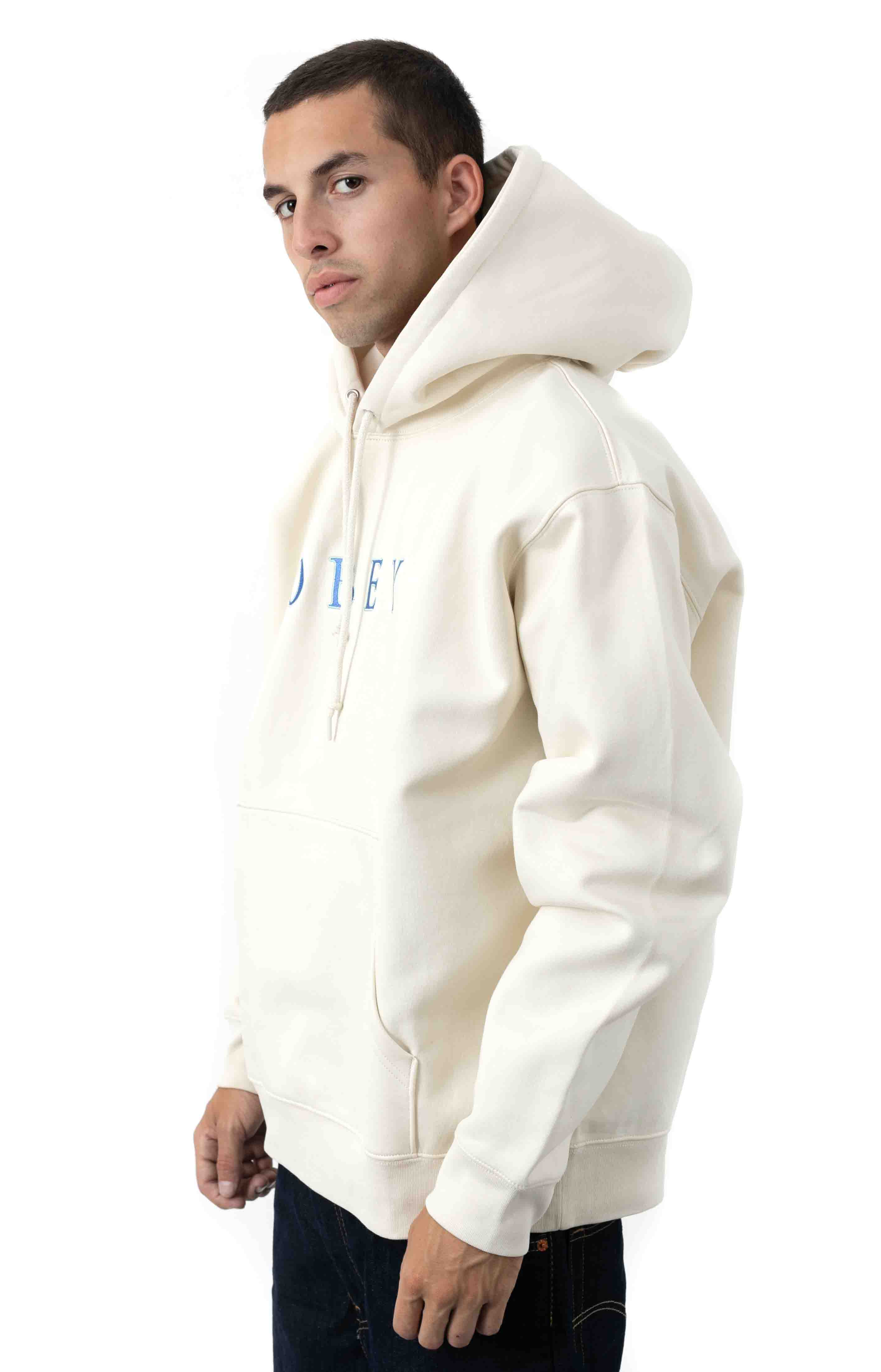 Curtis Pullover Hoodie - Natural 2
