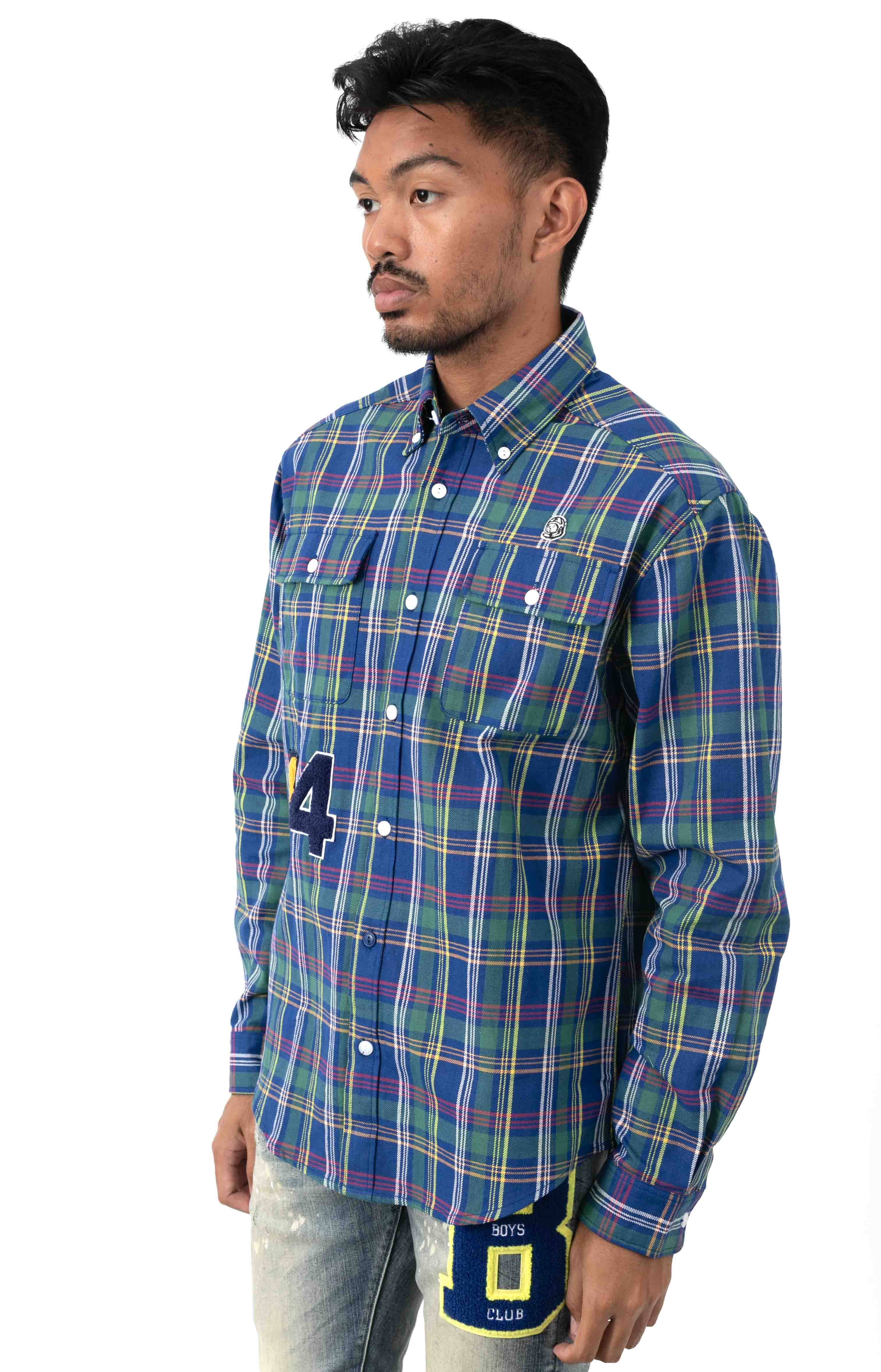 BB Kindling L/S Woven Button-Up Shirt  2