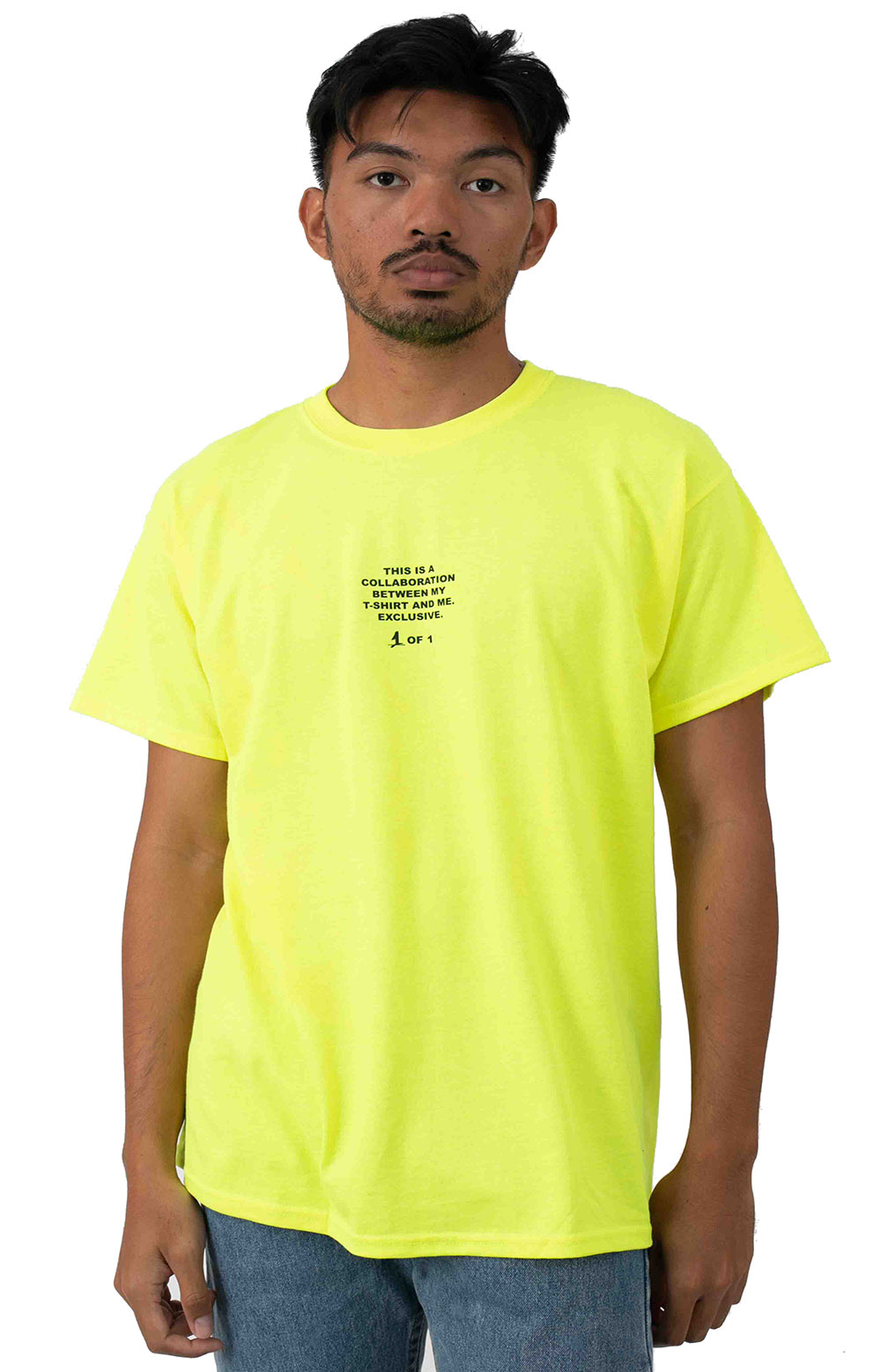 Collab 2.0 SS T-Shirt - Neon Yellow