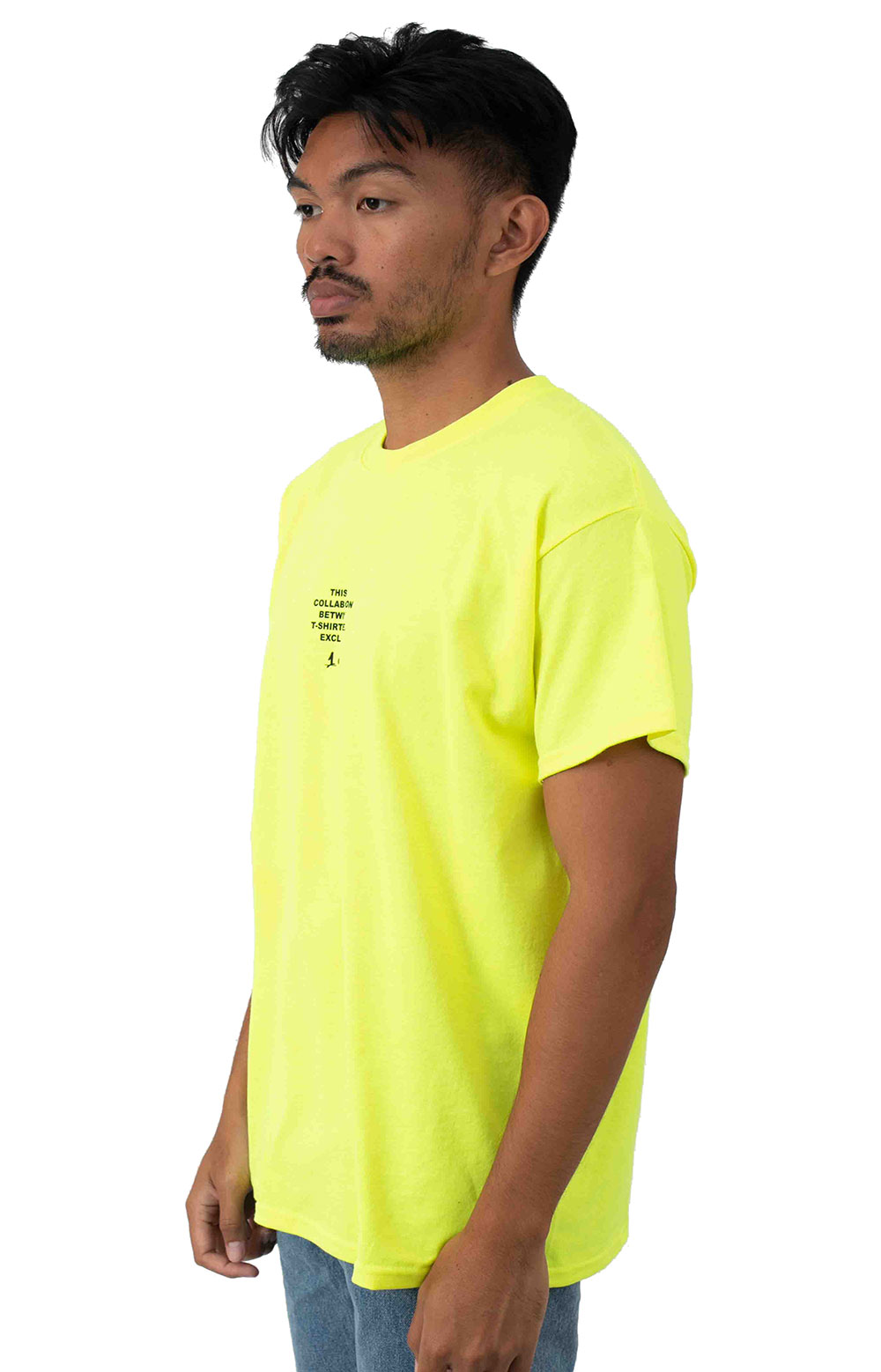 Collab 2.0 SS T-Shirt - Neon Yellow  2