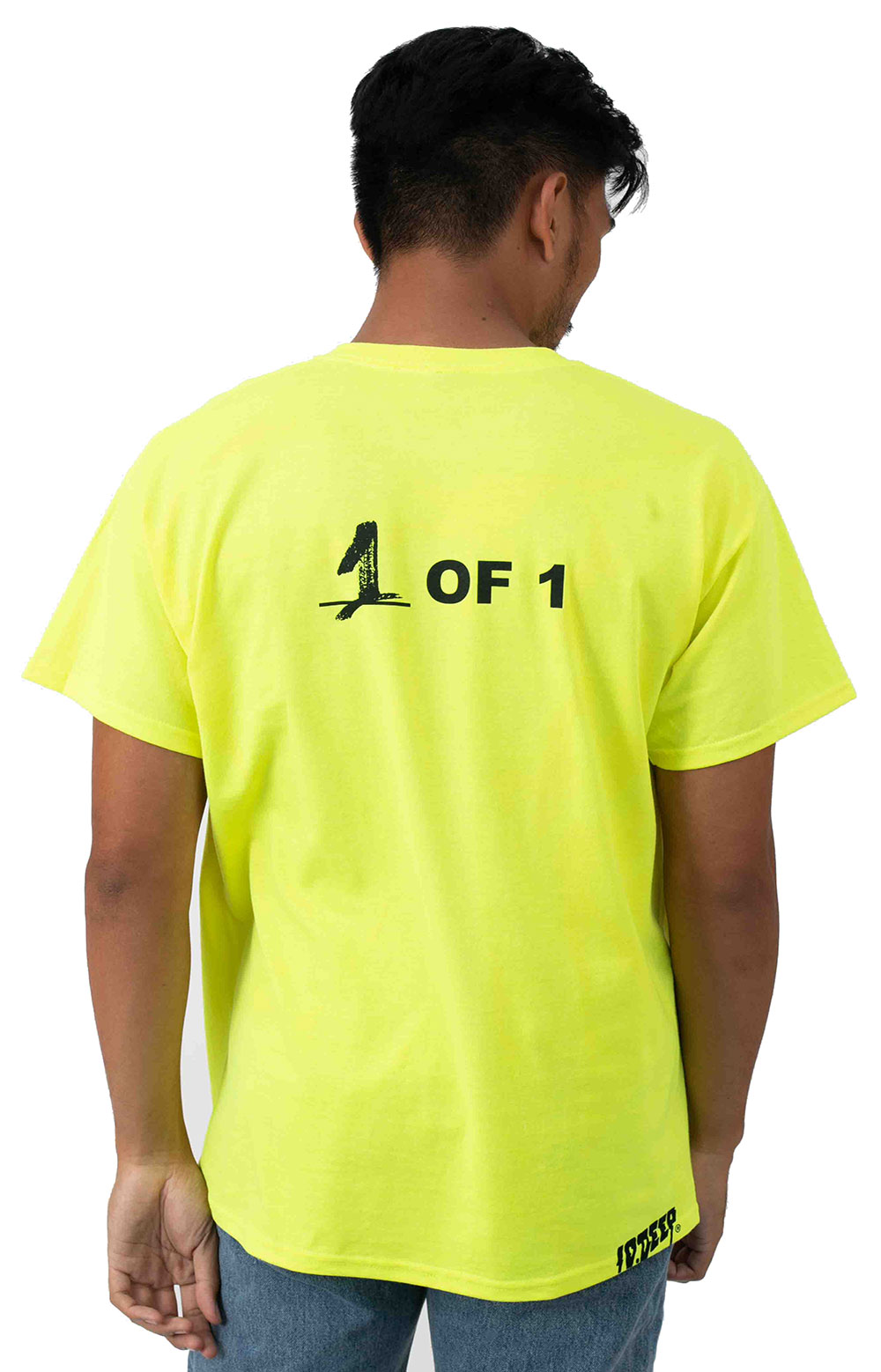 Collab 2.0 SS T-Shirt - Neon Yellow  3