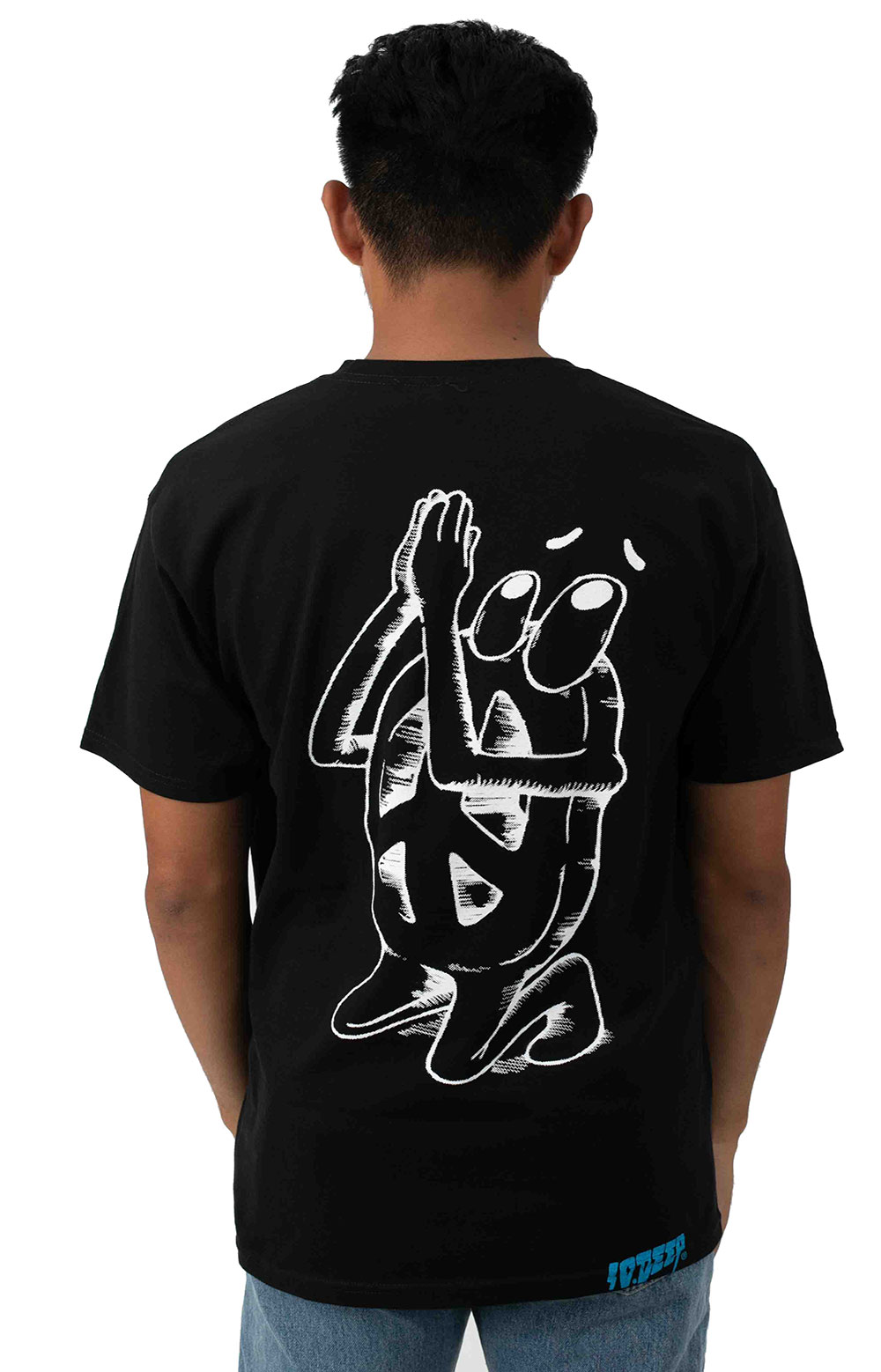 No Justice No Peace T-Shirt - Black