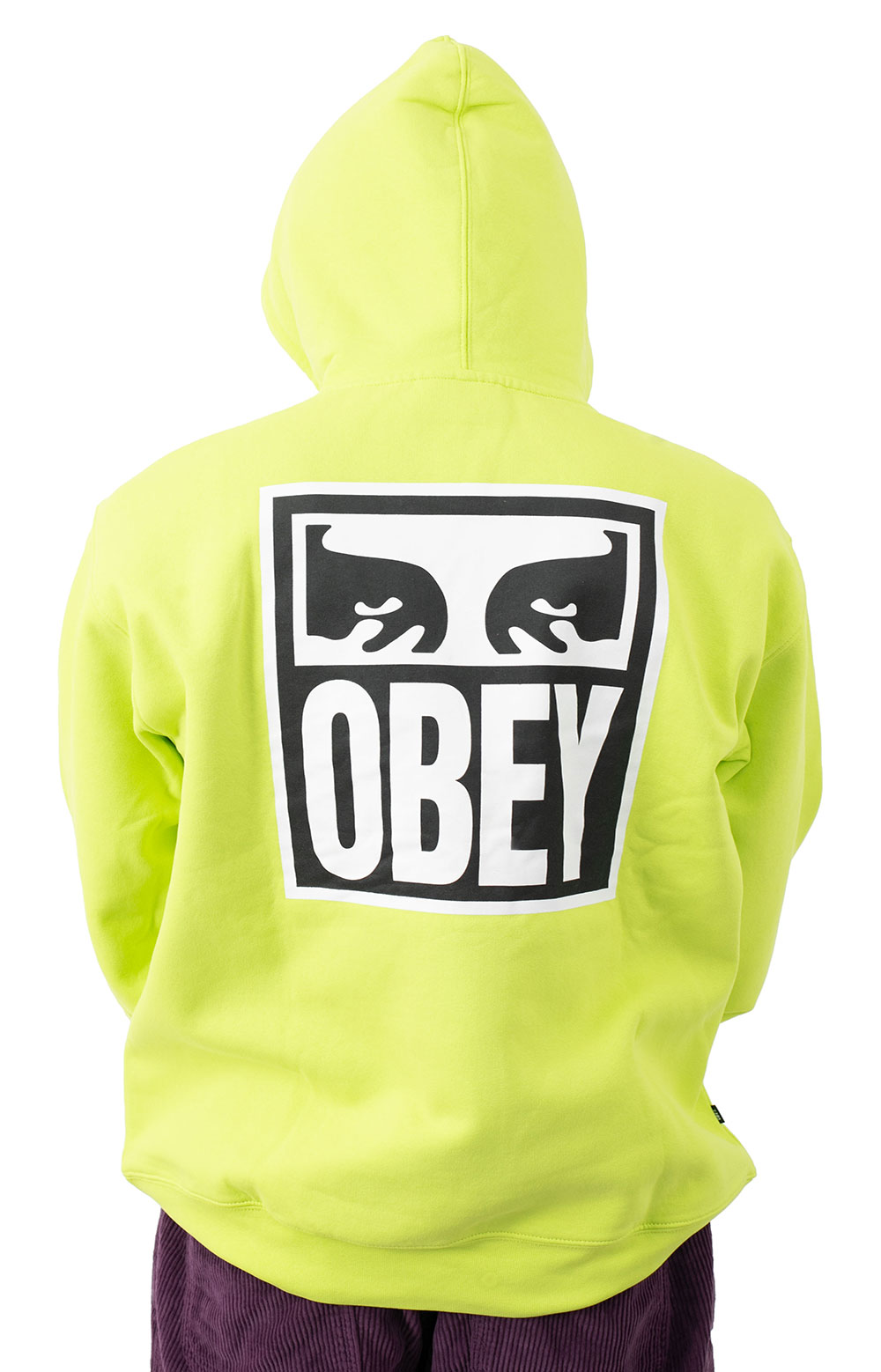 Obey Eyes Icon 2 Pullover Hoodie - Lime Punch 3