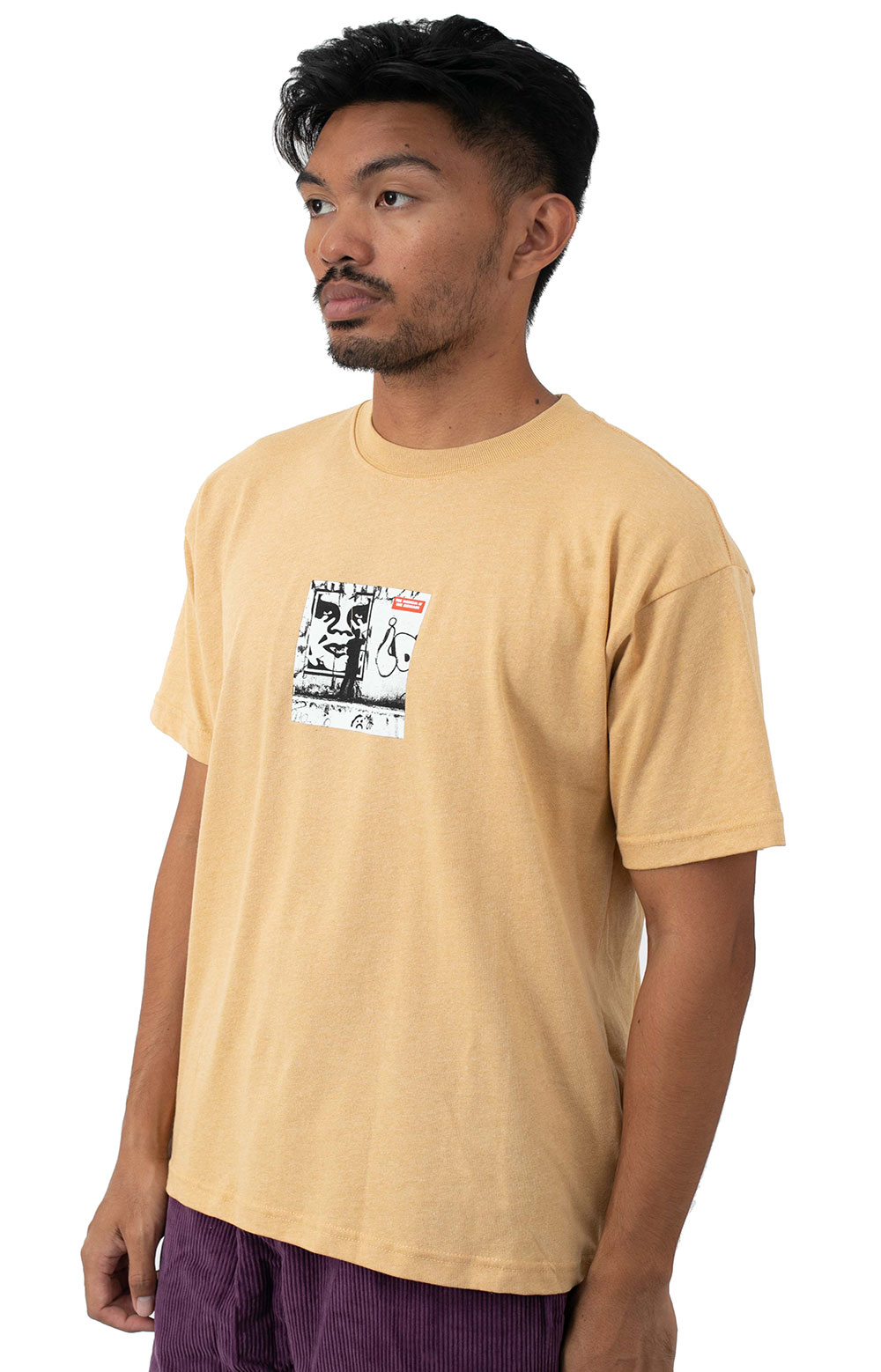 The Medium Is The Message T-Shirt - Croissant 2