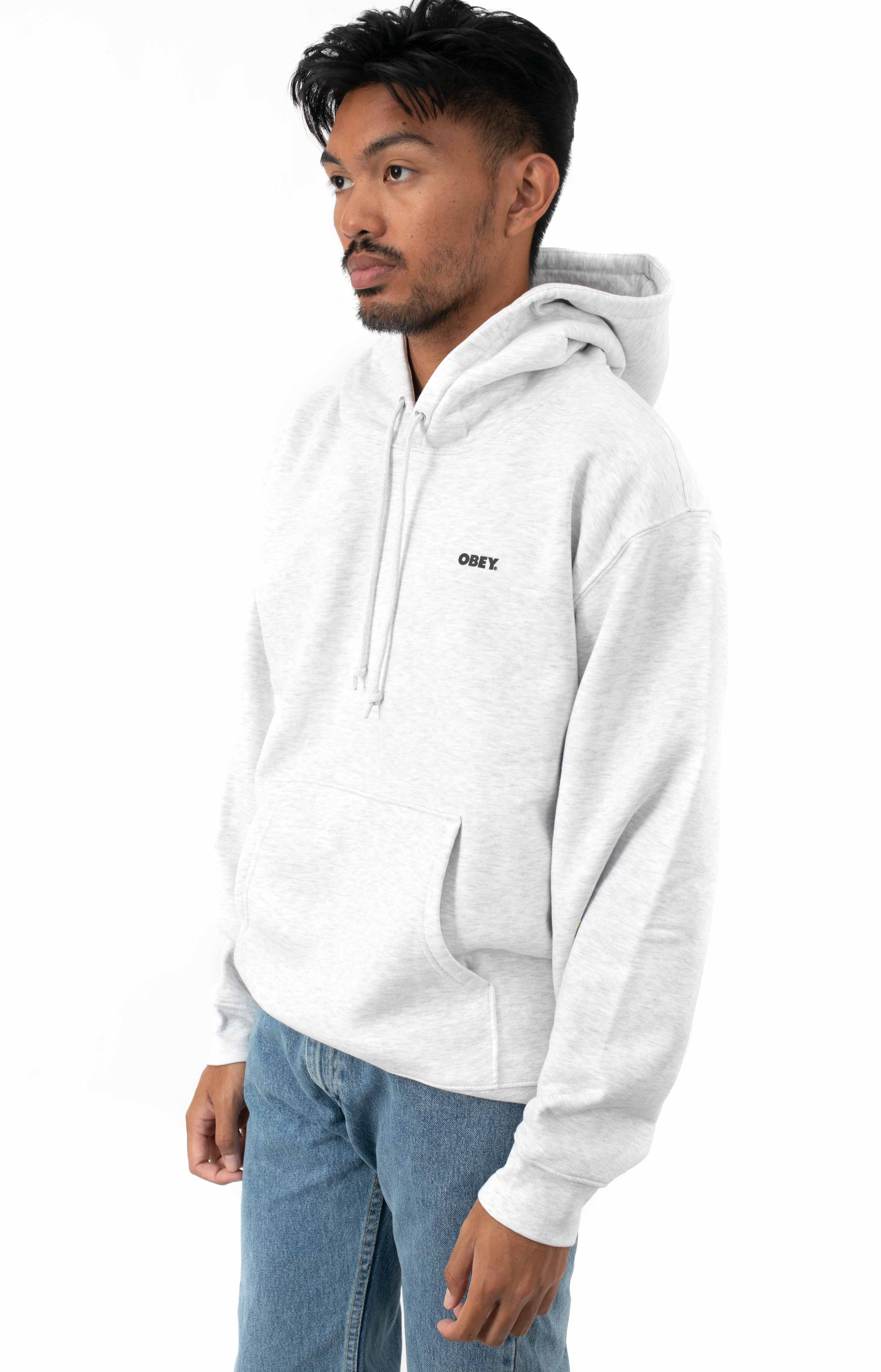 Bold Pullover Hoodie - Ash Grey 2
