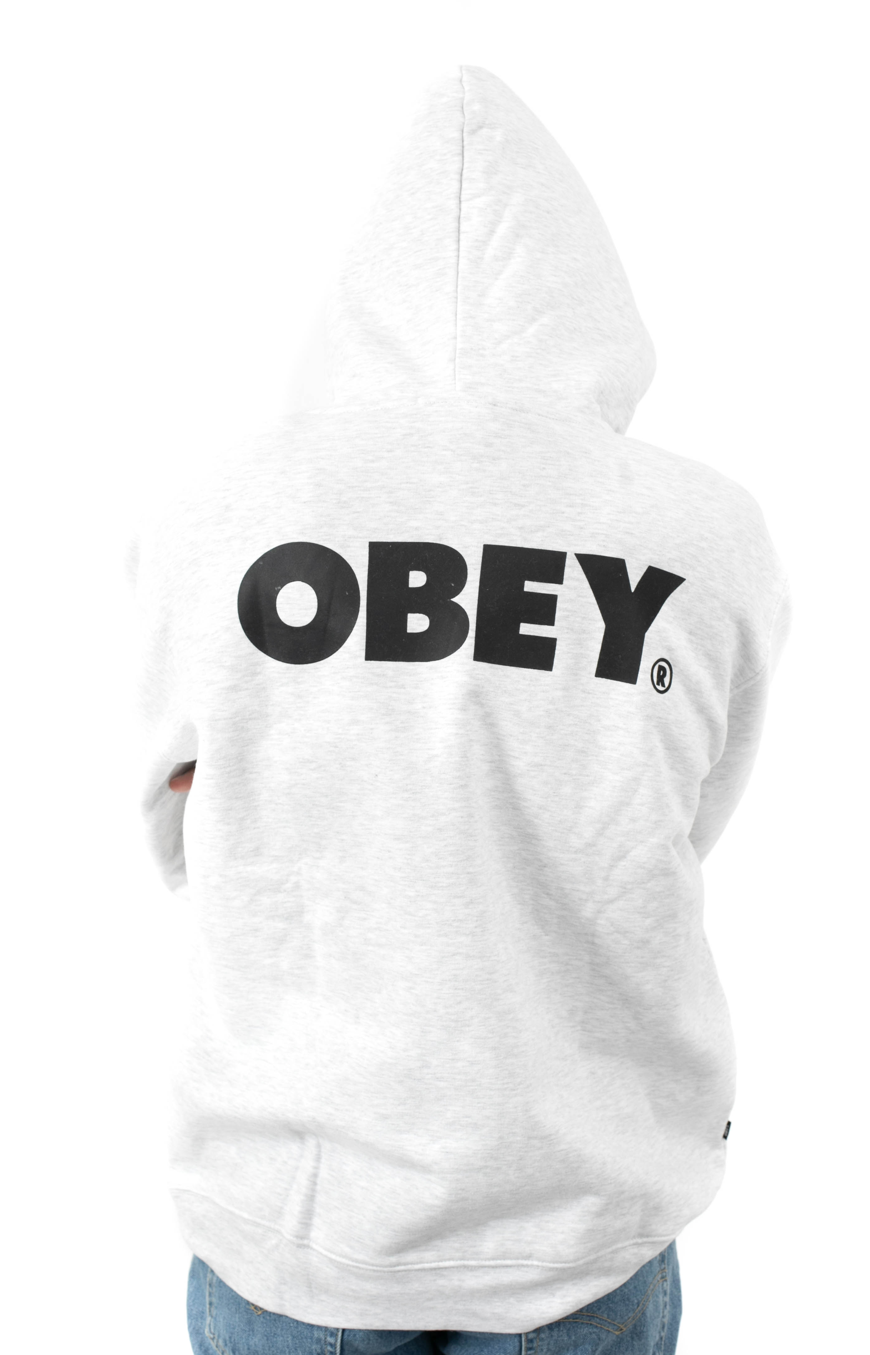 Bold Pullover Hoodie - Ash Grey 3