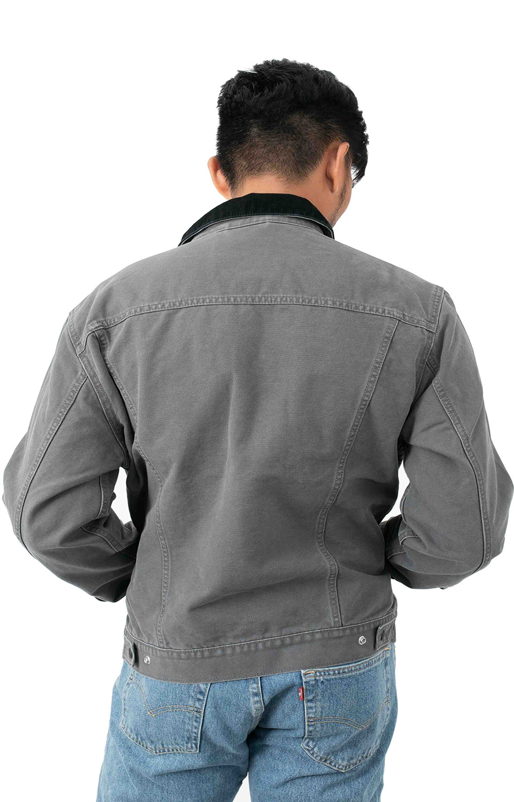 Lined Truck Jacket - Magnet Canvas  3
