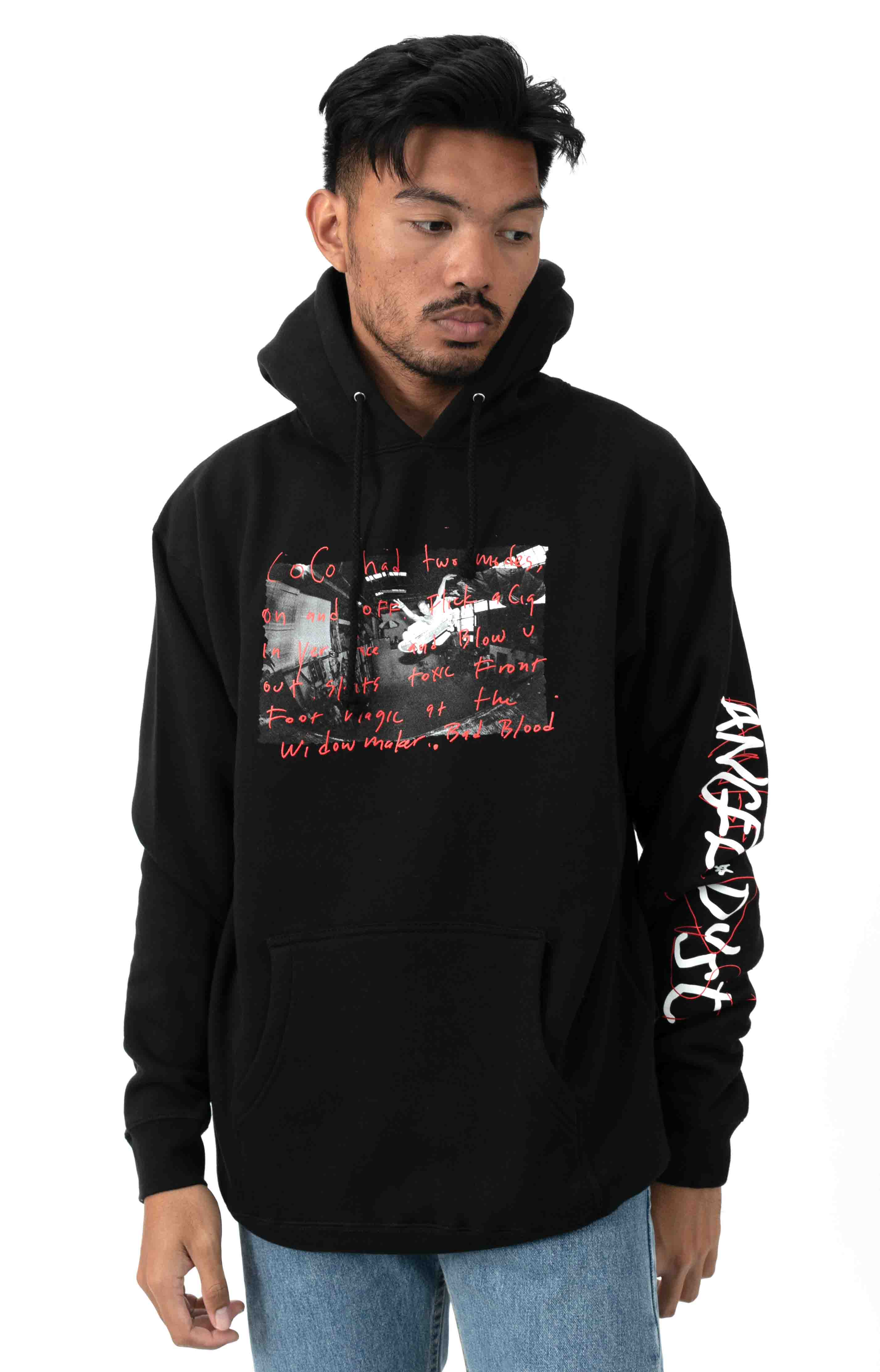 Coco Pullover Hoodie - Black