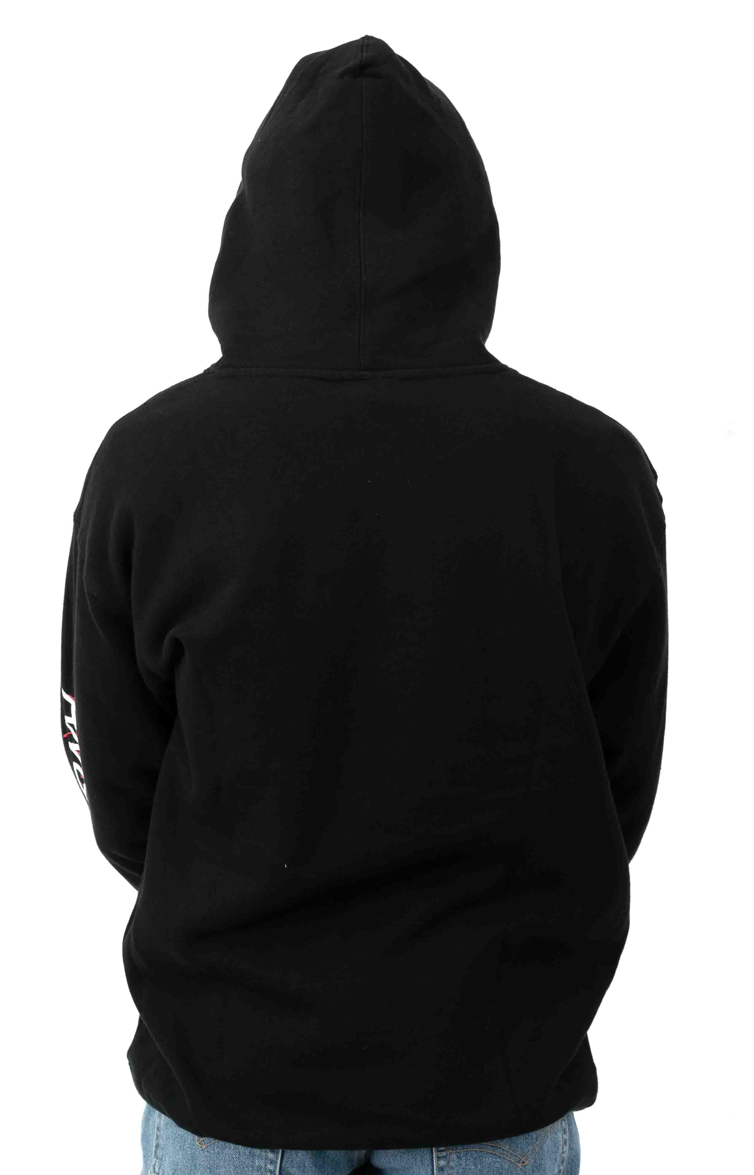 Coco Pullover Hoodie - Black 3