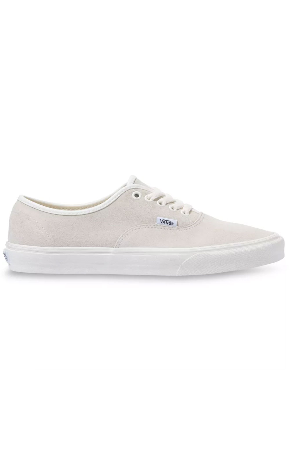 (48A19A) Pig Suede Authentic Shoe - Marshmallow