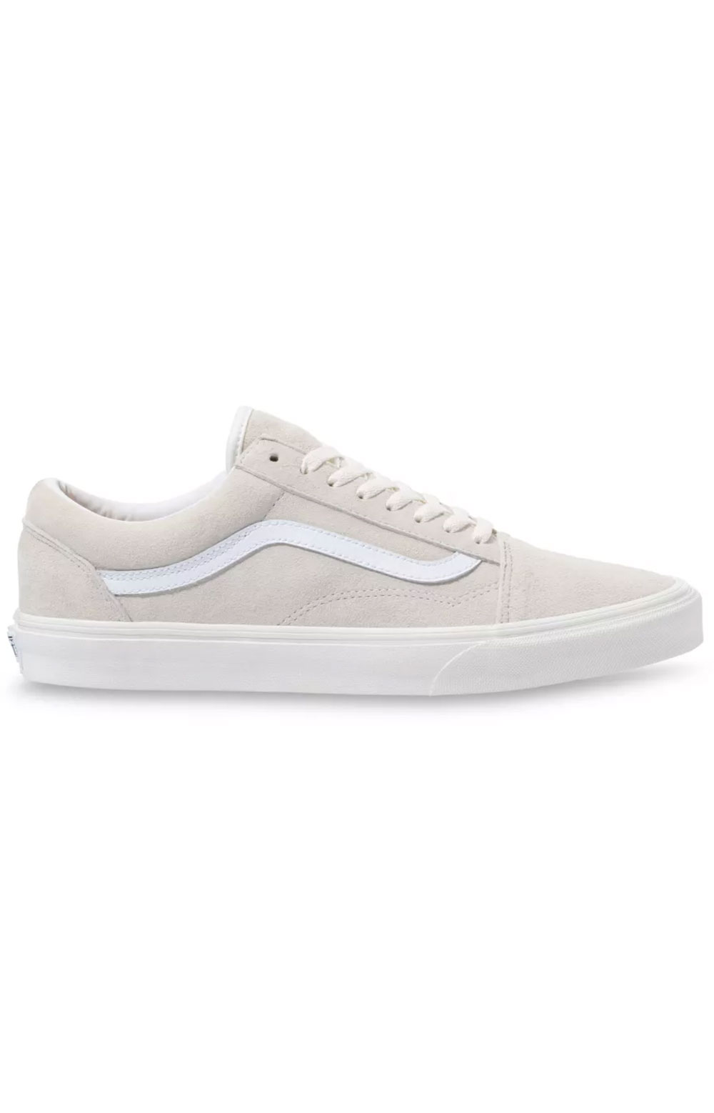 (U3B19A) Pig Suede Old Skool Shoe - Marshmallow