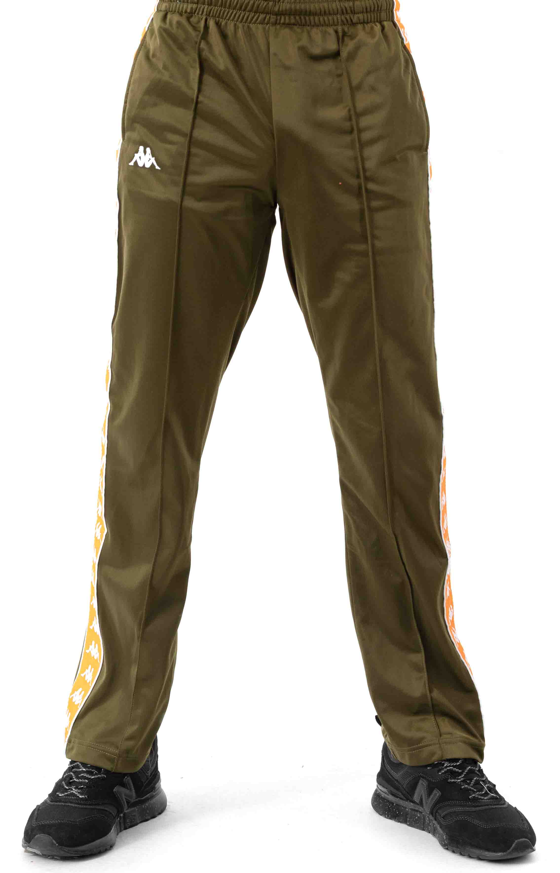 222 Banda Astoriazz Trackpant - Green Oliva/Orange 2
