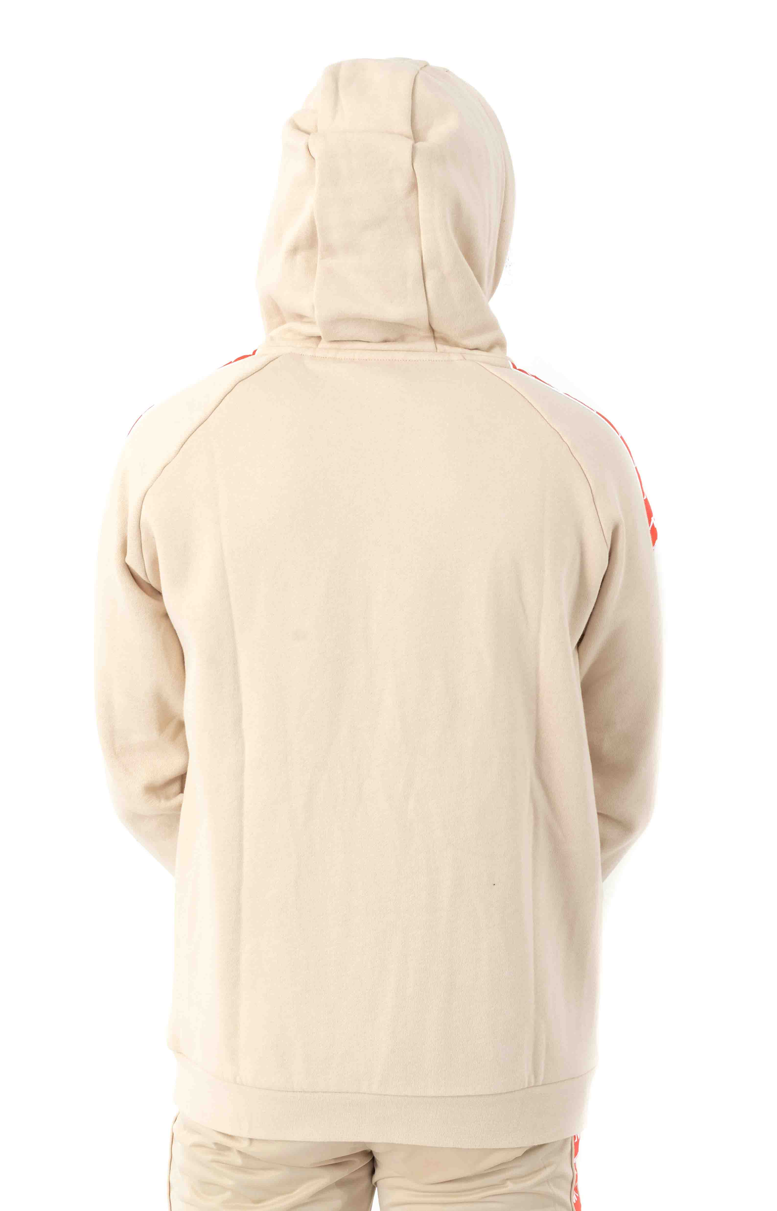 222 Banda Authentic Hurtado 2 Pullover Hoodie - Beige/Orange 3
