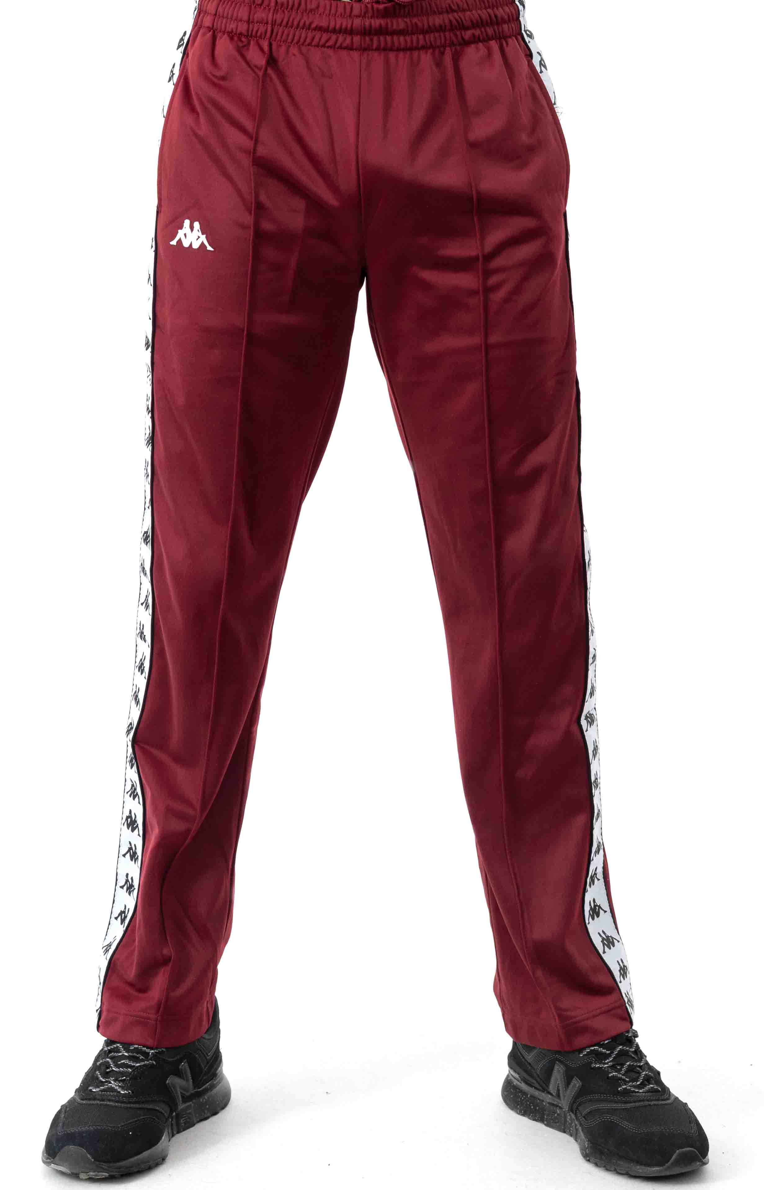 222 Banda Astoriazz Trackpant - Red Dahlia/White 2