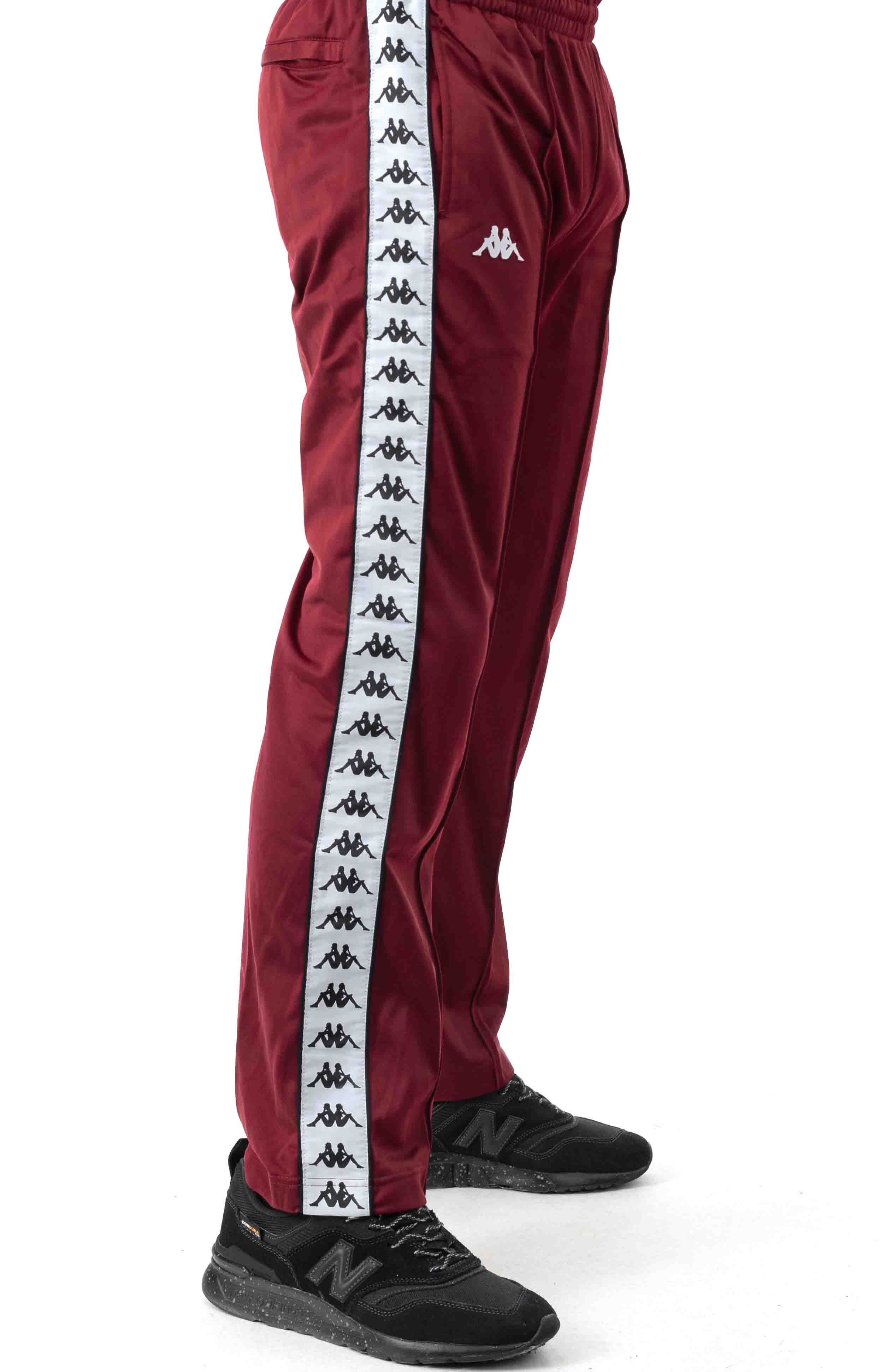 222 Banda Astoriazz Trackpant - Red Dahlia/White