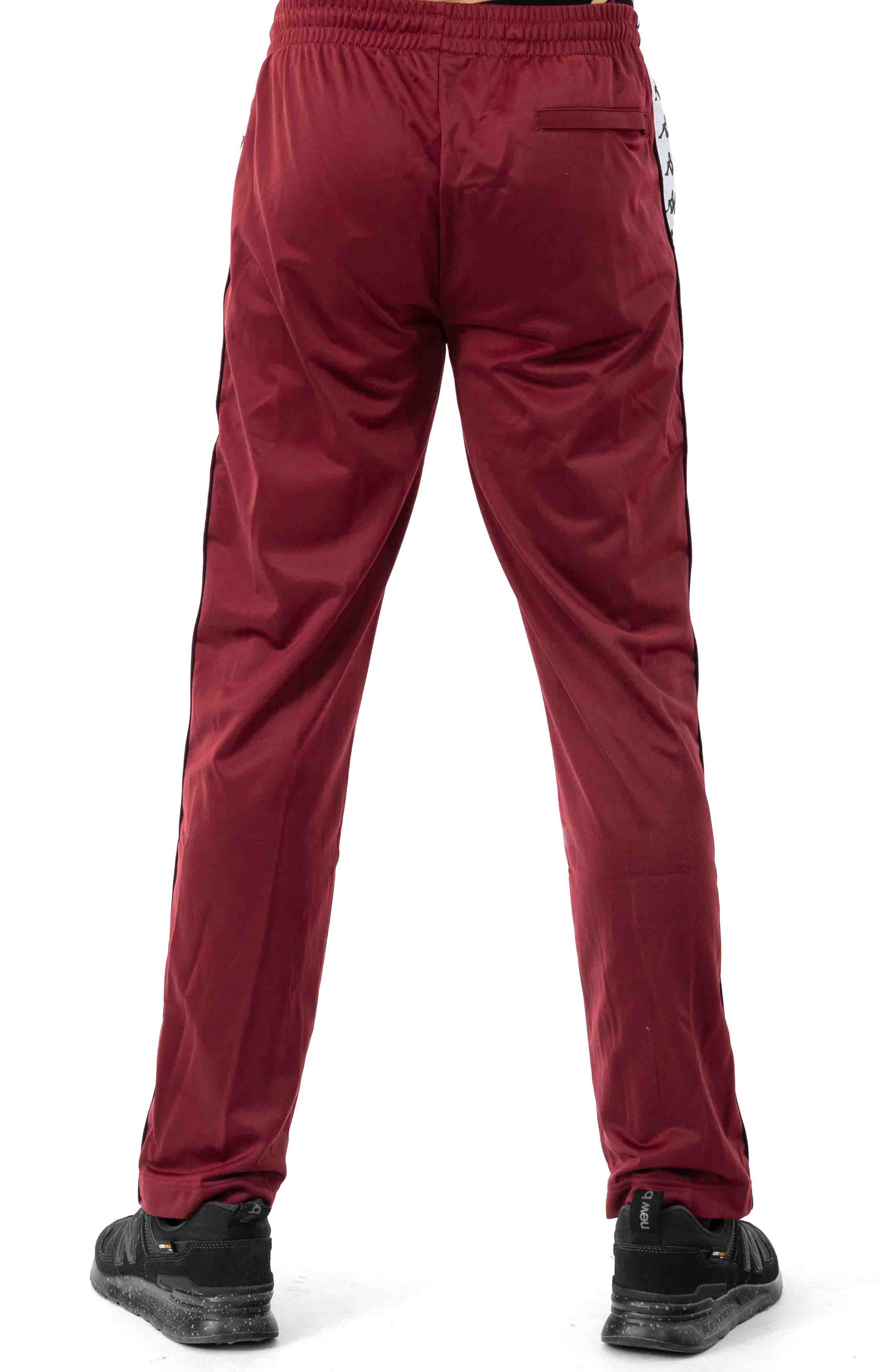 222 Banda Astoriazz Trackpant - Red Dahlia/White 3