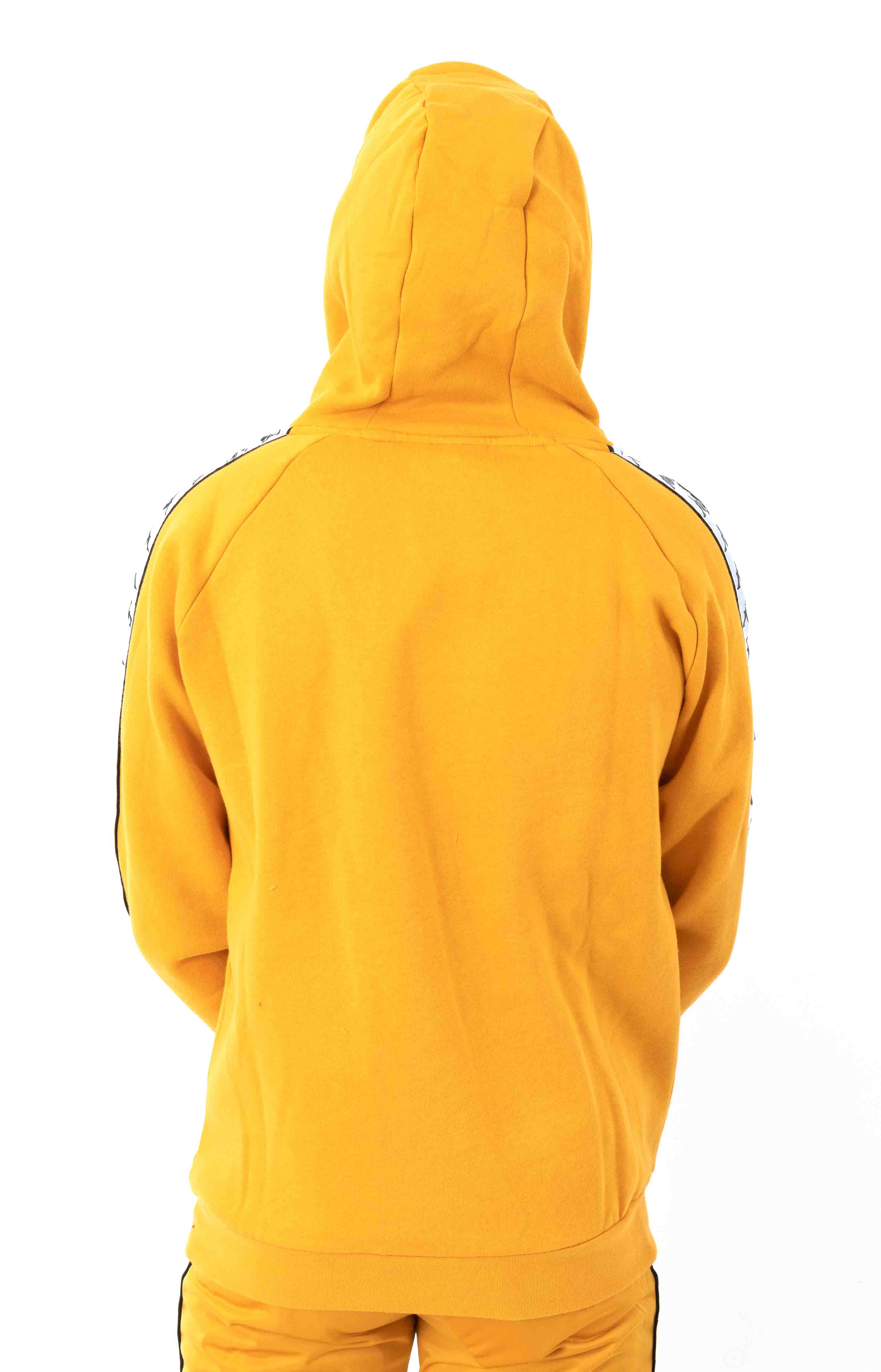 222 Banda Authentic Hurtado 2 Pullover Hoodie - Yellow Ochre/White 3