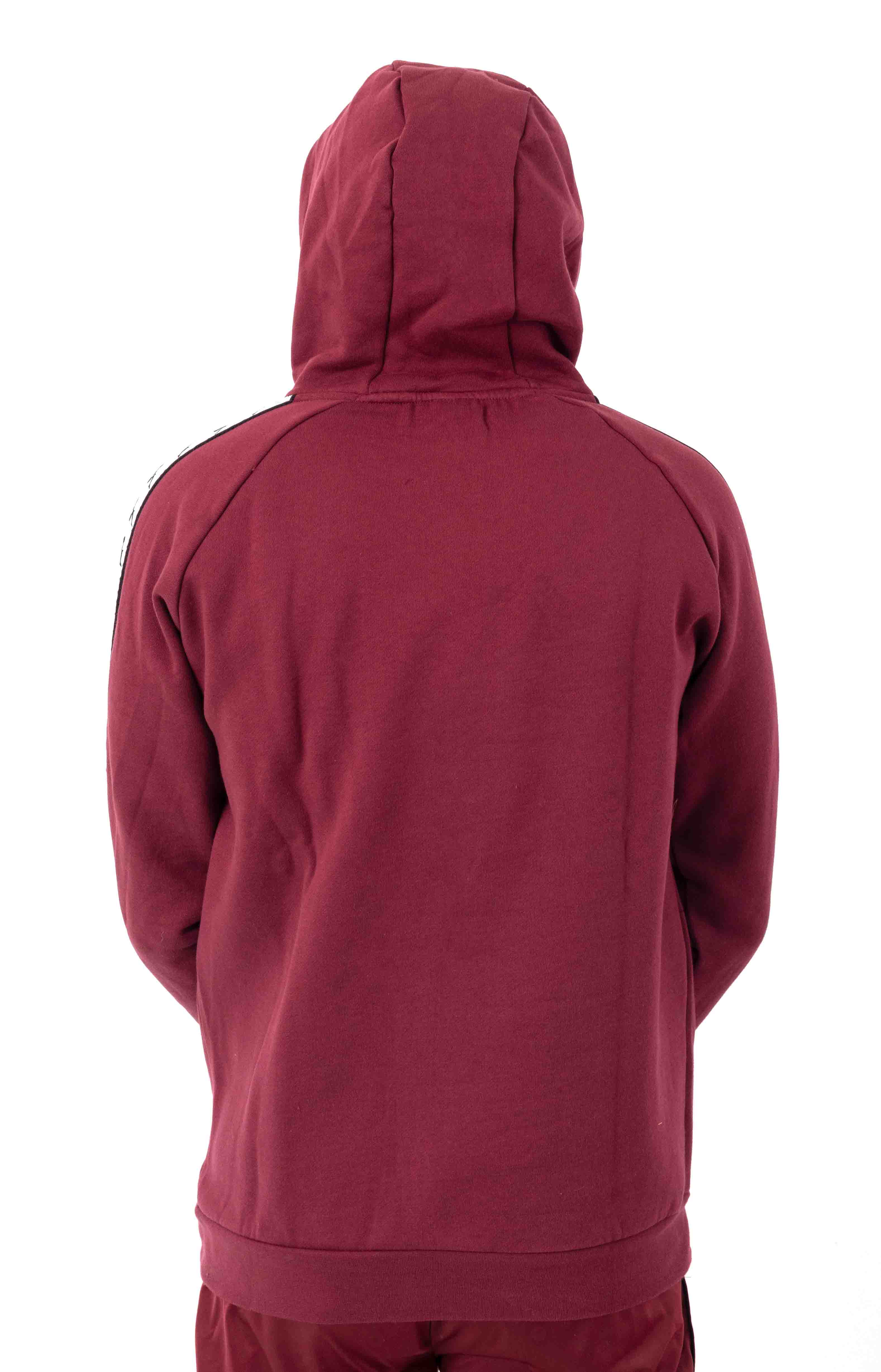 222 Banda Authentic Hurtado 2 Pullover Hoodie - Red Dahlia/White 3