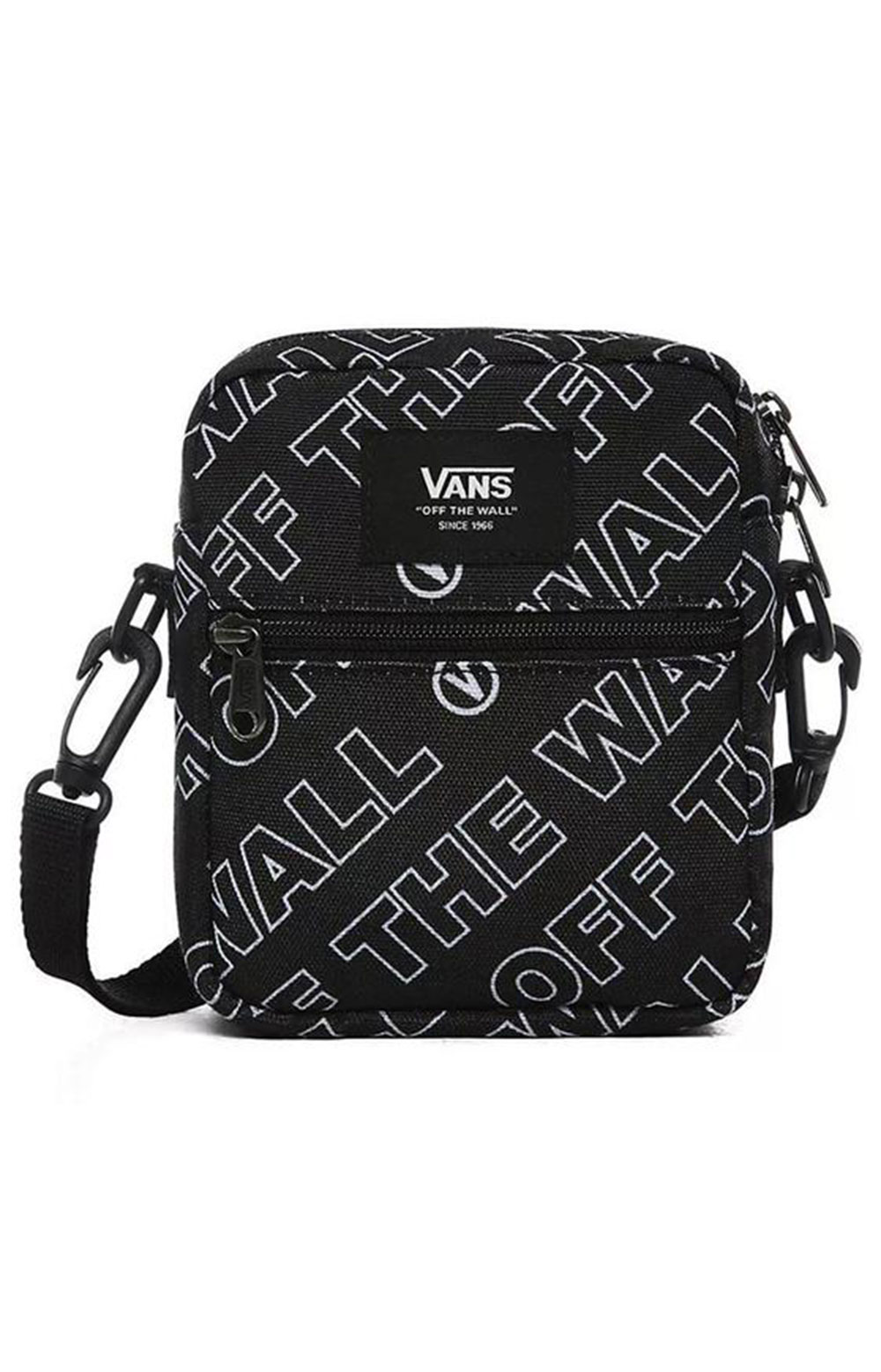 Bail Shoulder Bag - Black Dimension