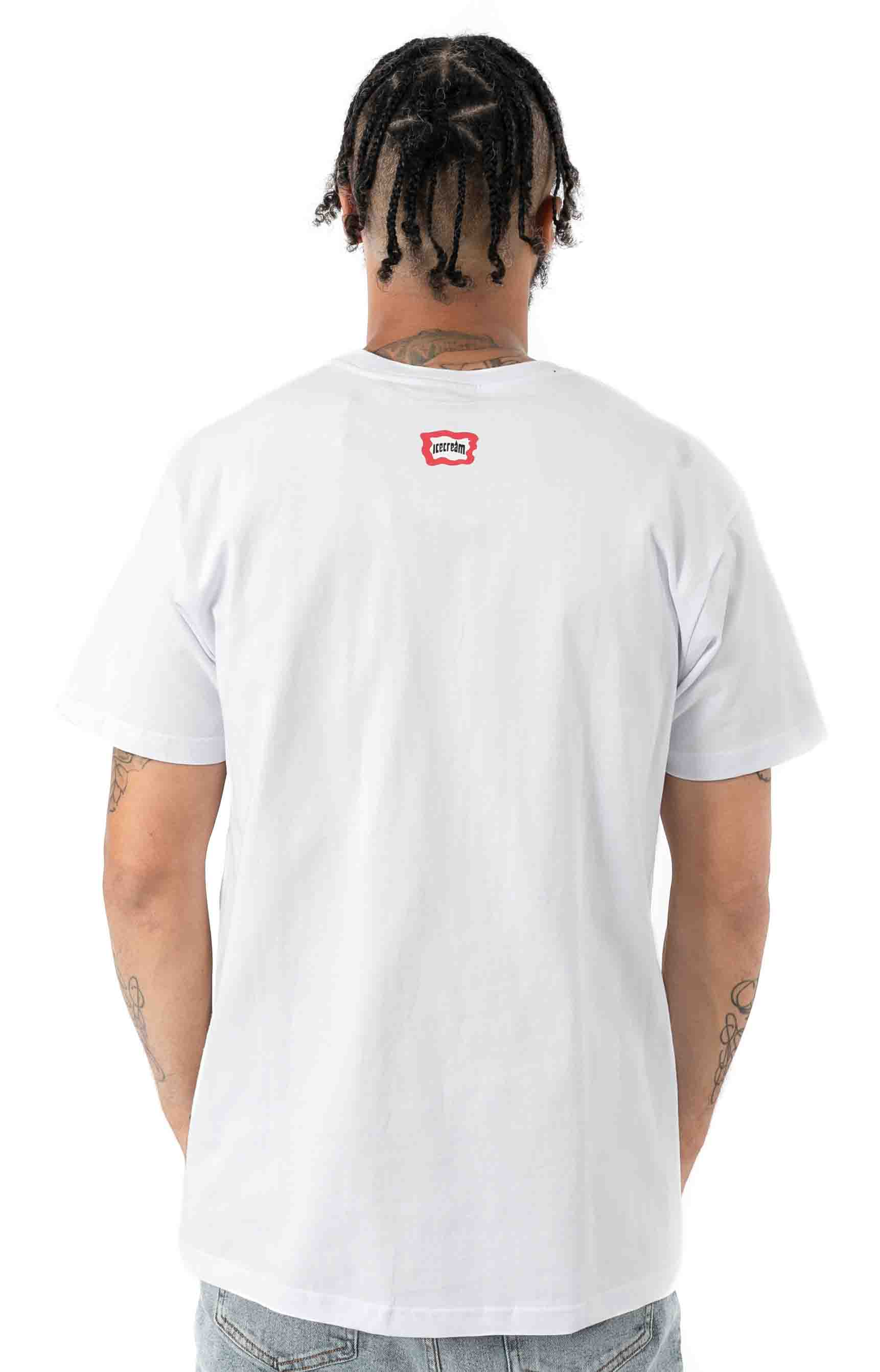 Bling T-Shirt - White  3