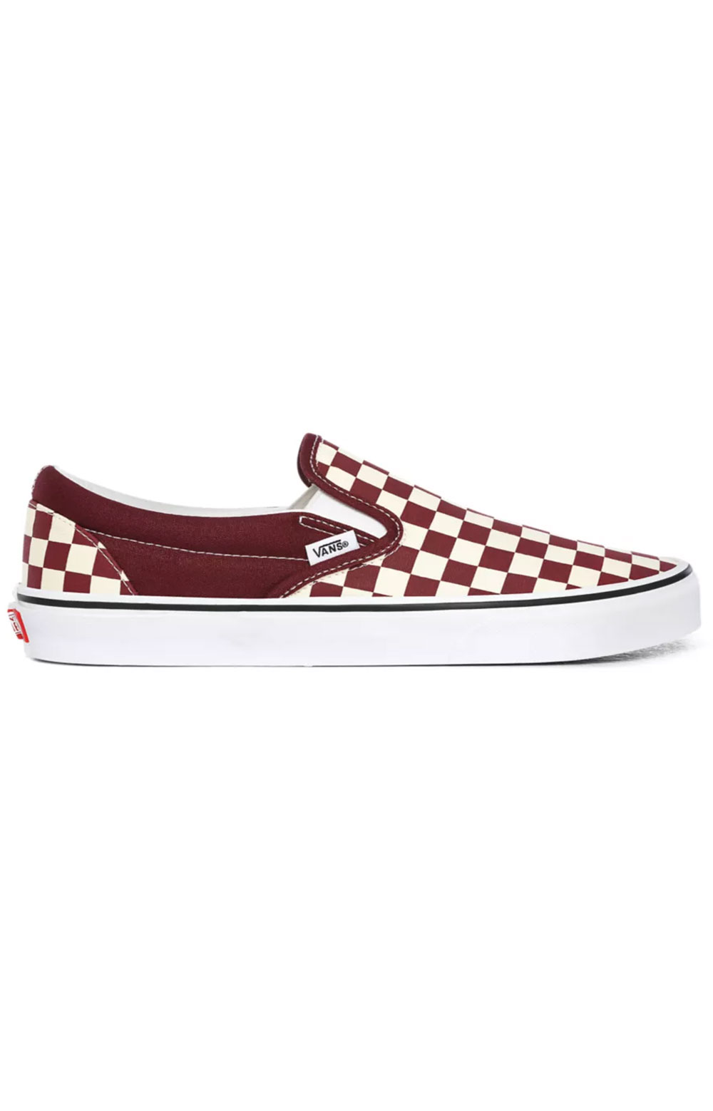 (BV3KZO) Checkerboard Classic Slip-On Shoes- Port Royale/True White