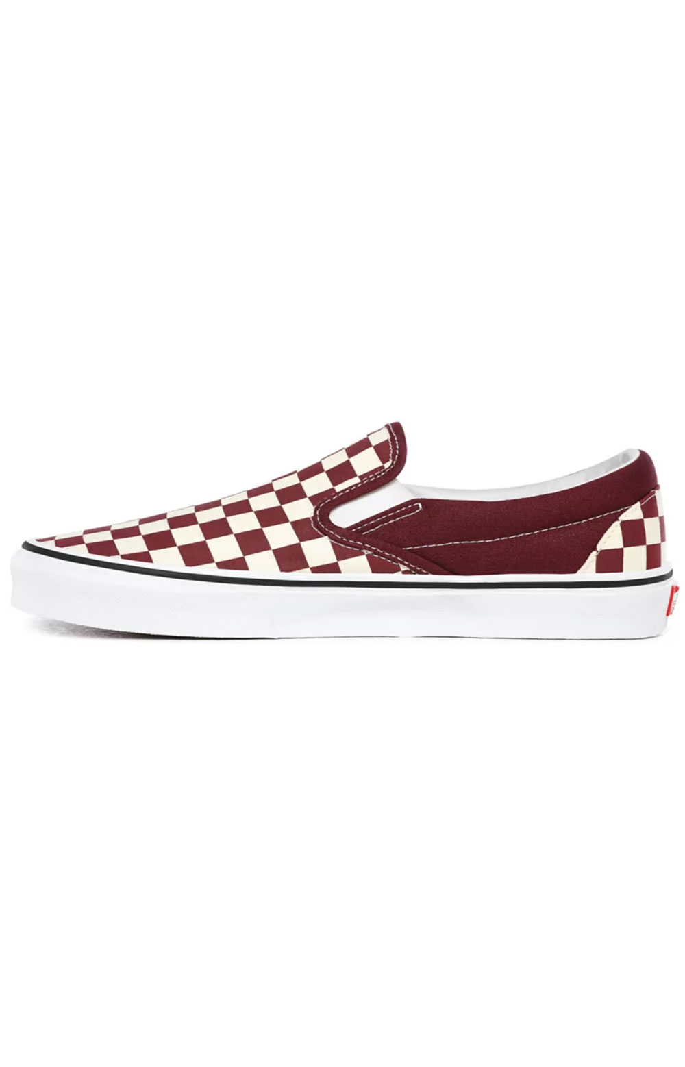 (BV3KZO) Checkerboard Classic Slip-On Shoes- Port Royale/True White  2