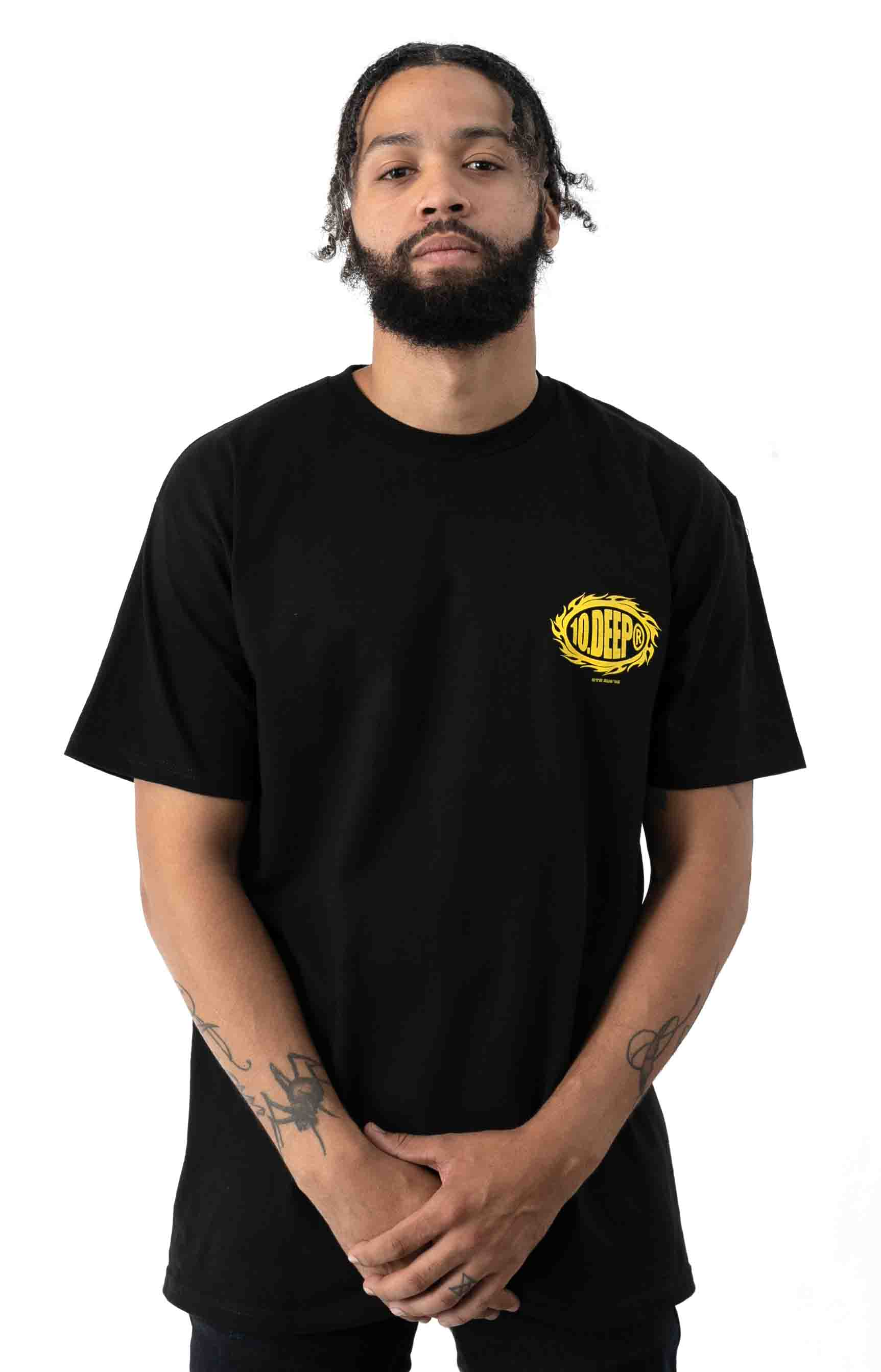 Flat Earth T-Shirt - Black 2