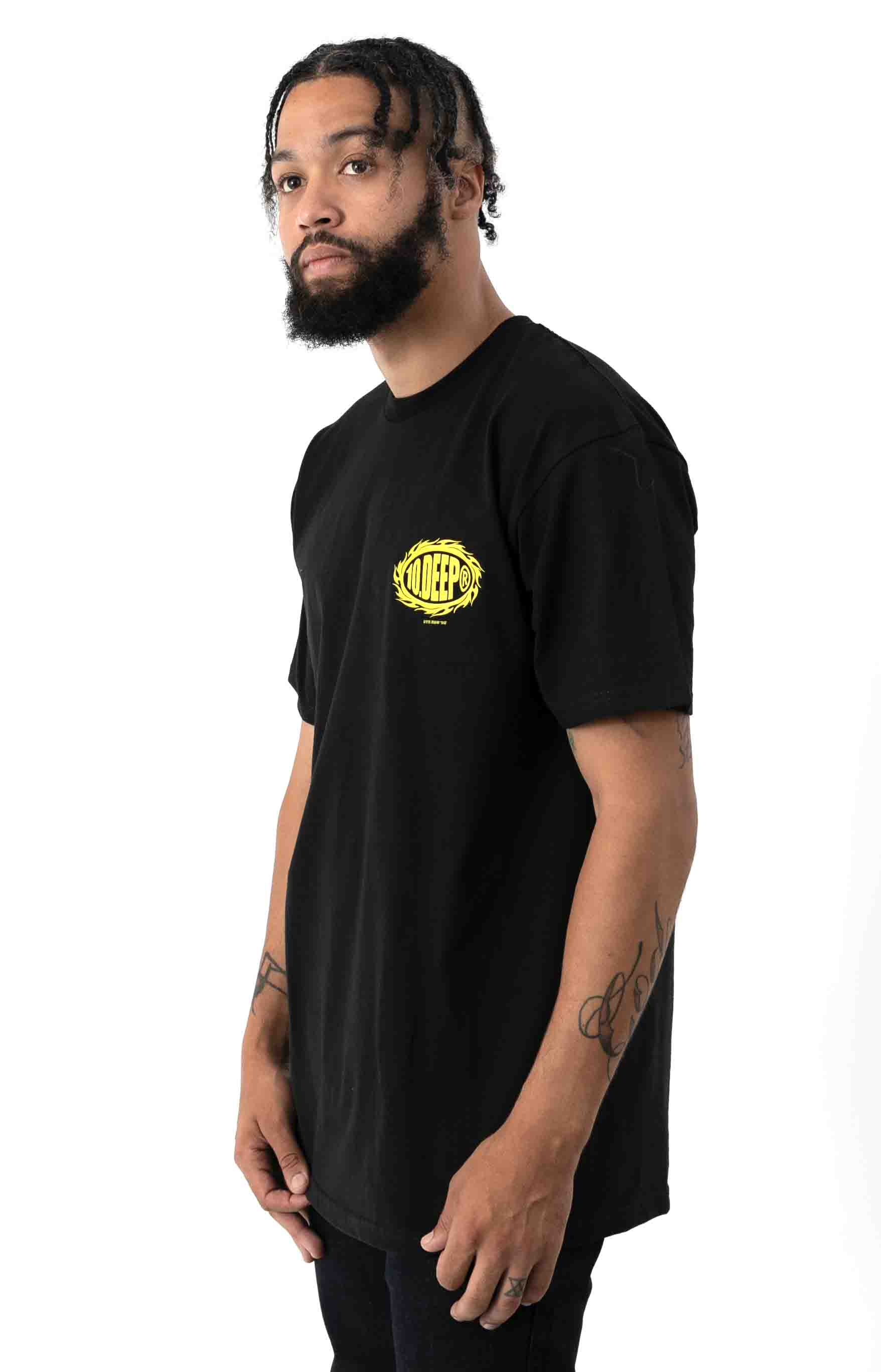 Flat Earth T-Shirt - Black 3