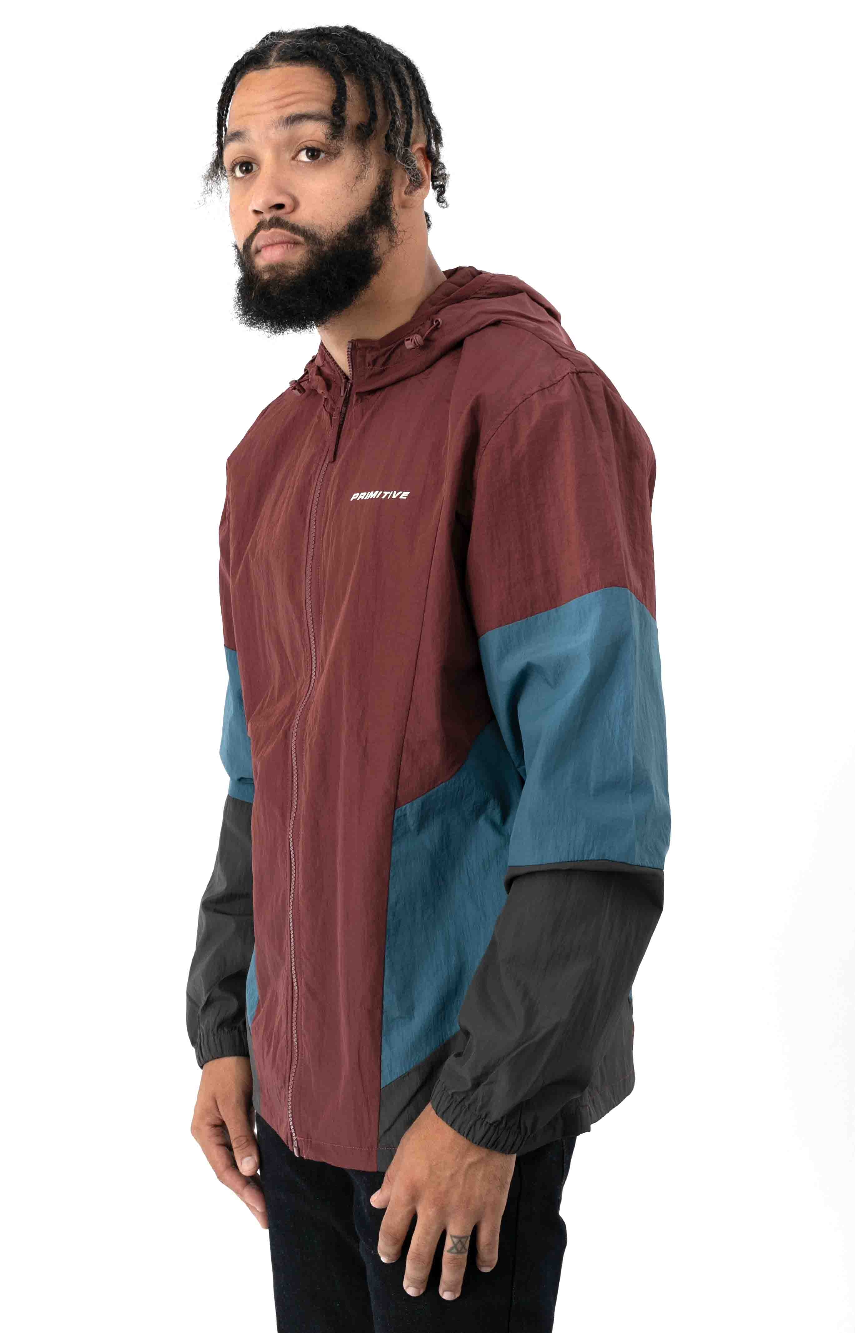 Dash Jacket - Burgundy 2