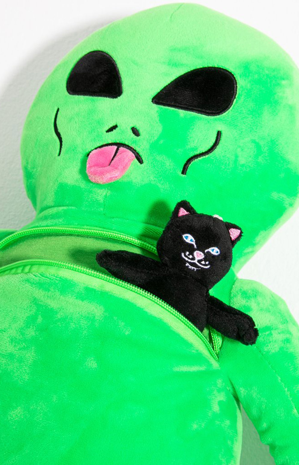 Lord Alien Plush Backpack - Green  3
