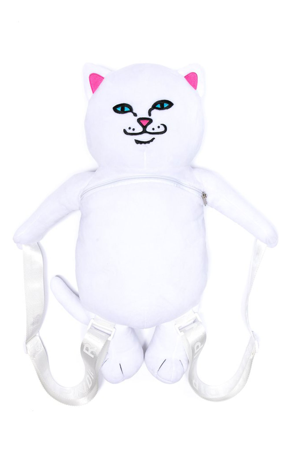 Lord Nermal Plush Backpack - White