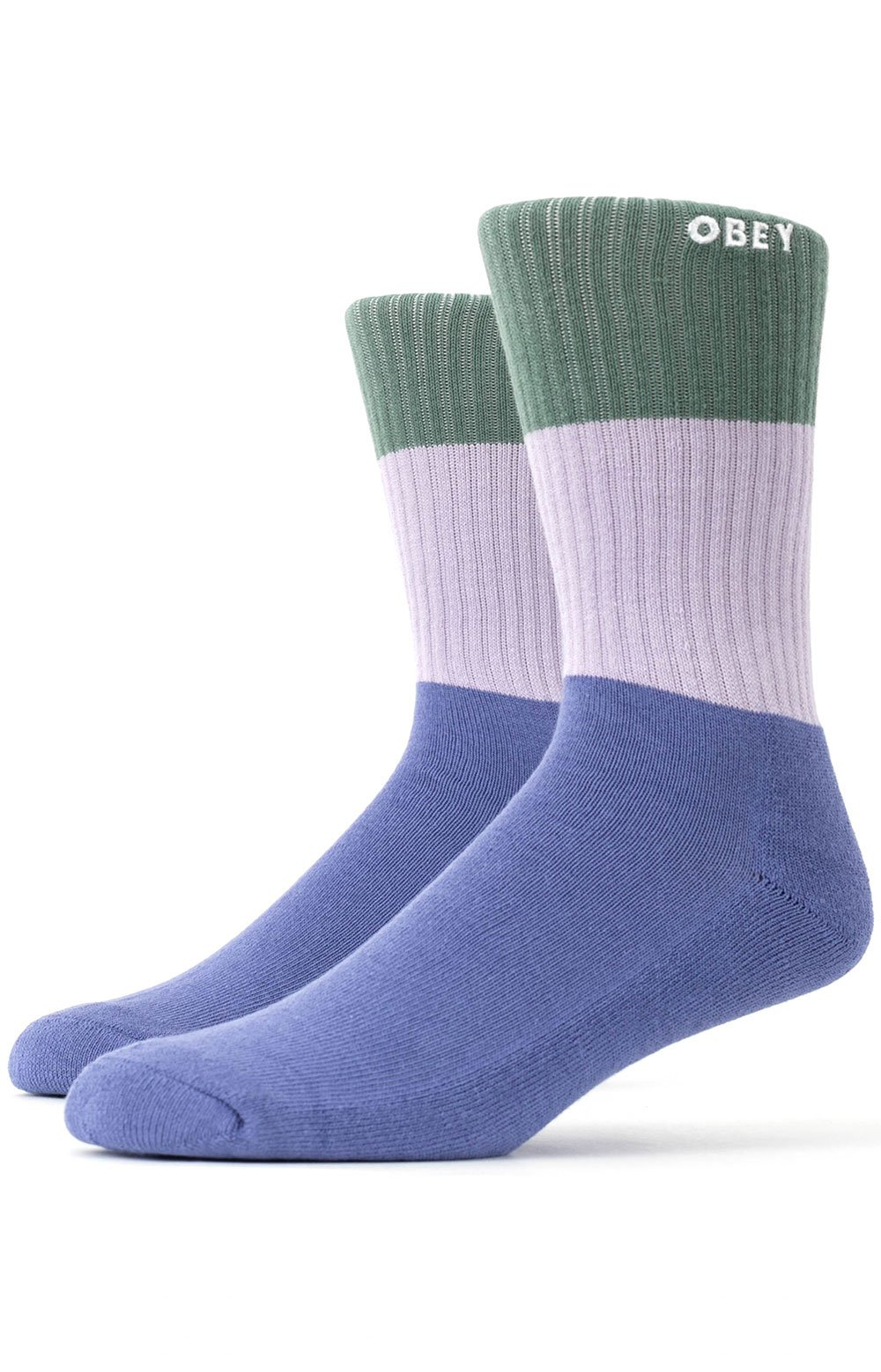 Milton Socks - Purple Mountain Multi