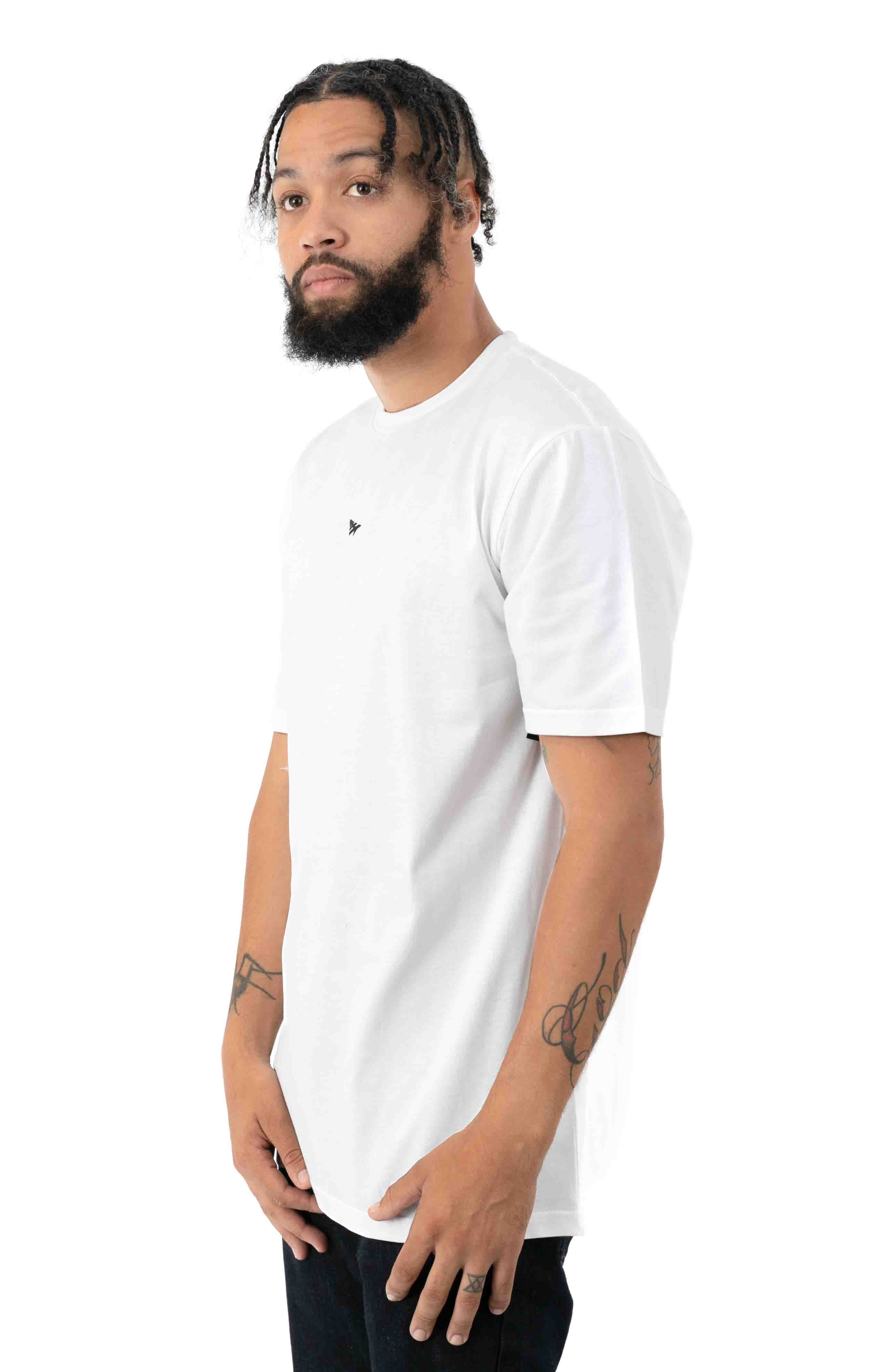 Headspin T-Shirt - White  2