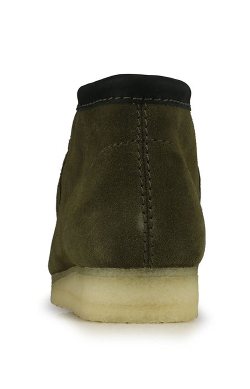 (26154740) Wallabee Boots - Olive Interest  4