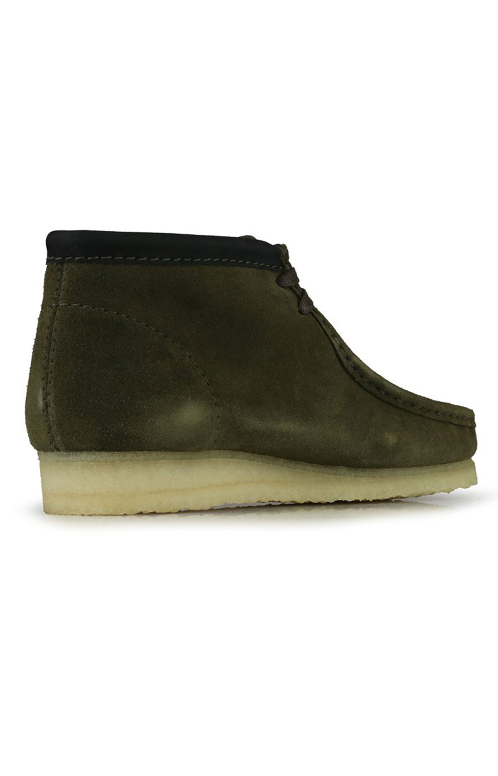 (26154740) Wallabee Boots - Olive Interest  5