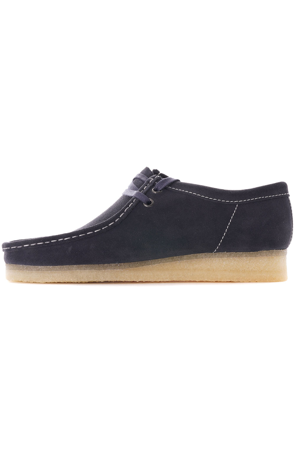 (26154744) Wallabee Shoes - Ink Suede 2