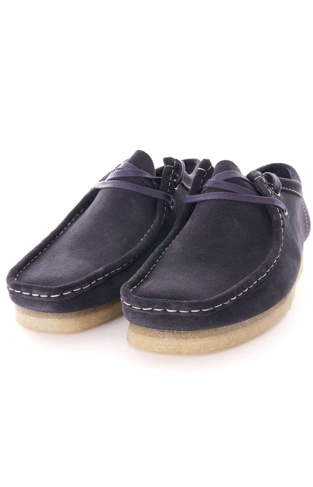 (26154744) Wallabee Shoes - Ink Suede 3