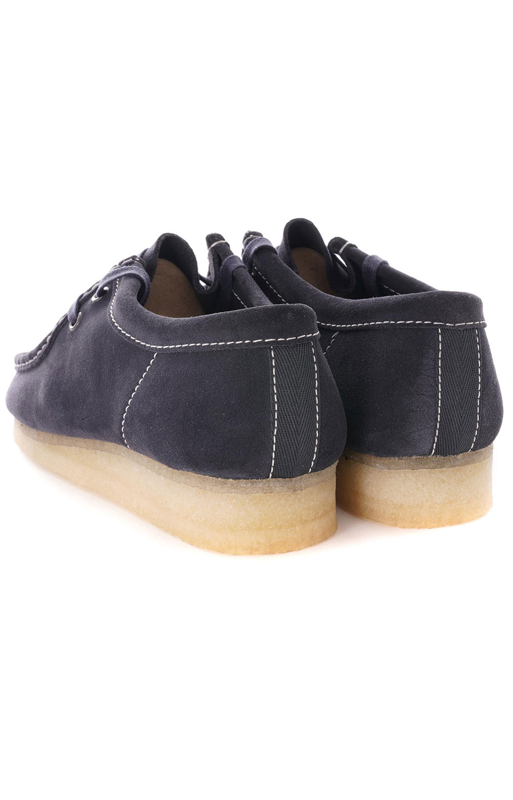 (26154744) Wallabee Shoes - Ink Suede 4