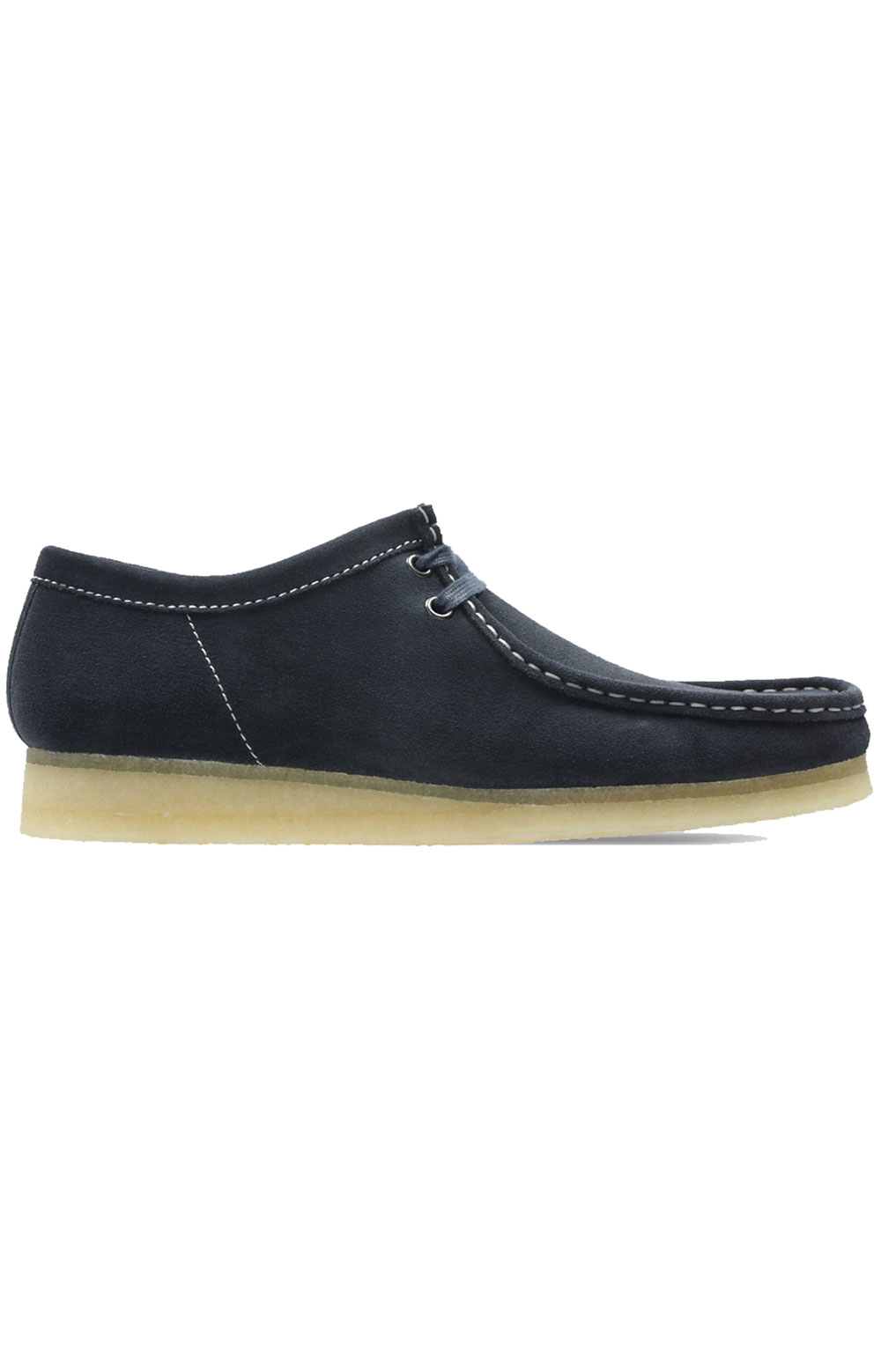 (26154744) Wallabee Shoes - Ink Suede