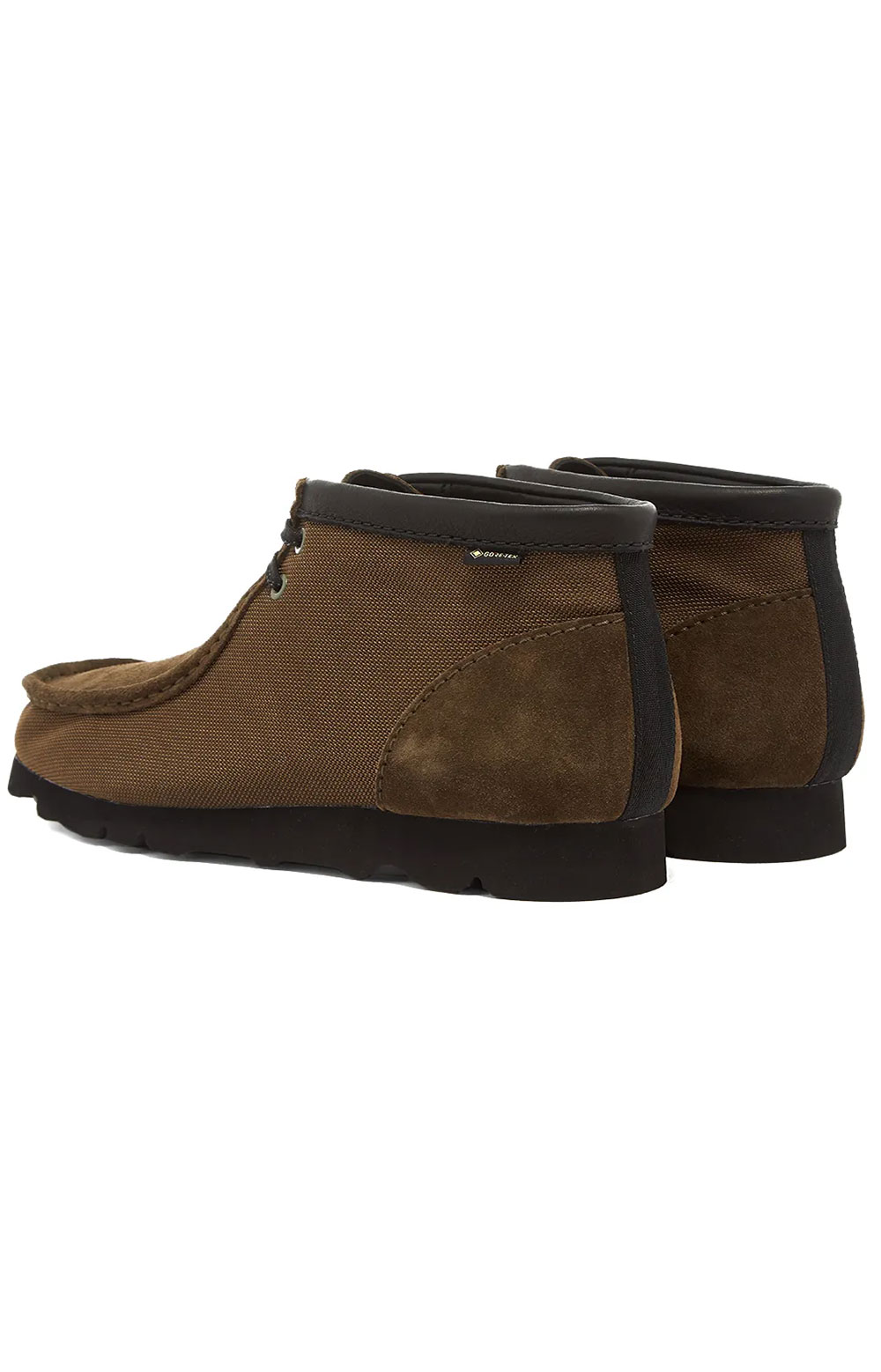 (26154788) Wallabee GTX Boots - Olive Textile 3