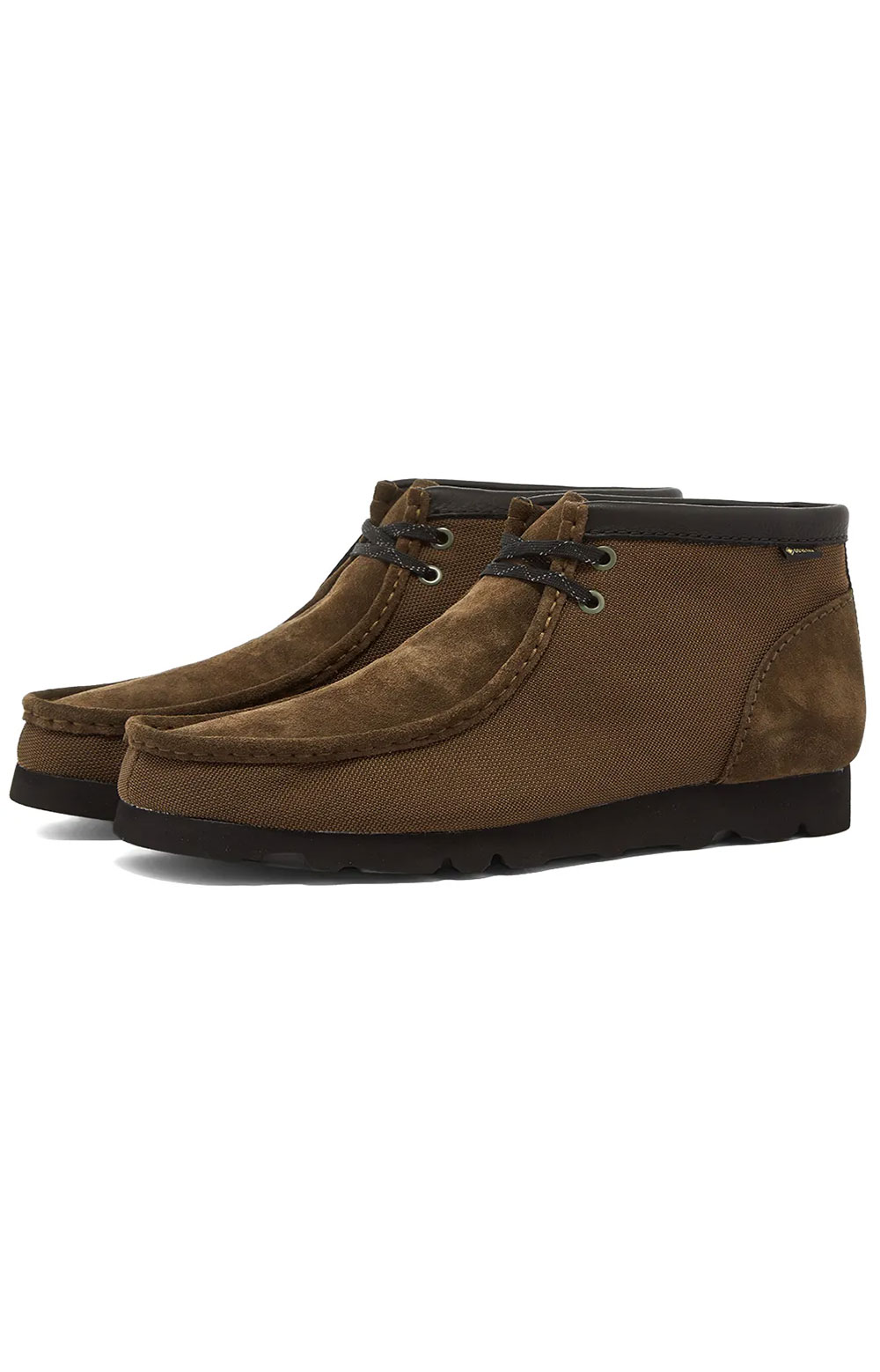 (26154788) Wallabee GTX Boots - Olive Textile 6