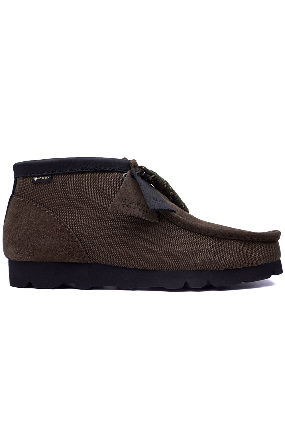 (26154788) Wallabee GTX Boots - Olive Textile
